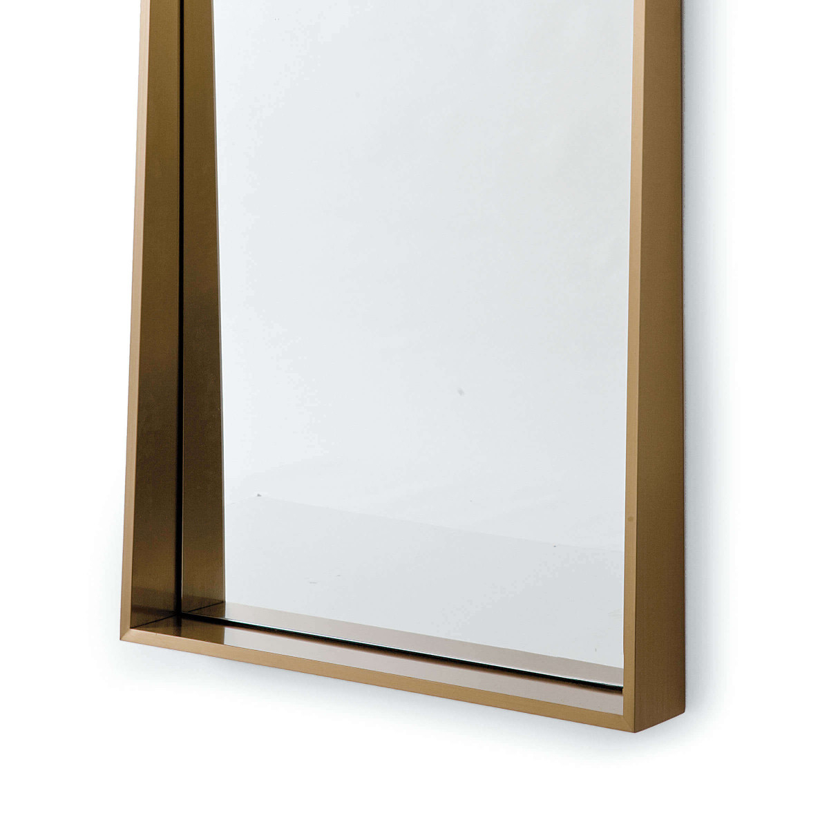 Brass Angled Wall Mirror With Famous Angled Wall Mirrors (View 7 of 20)