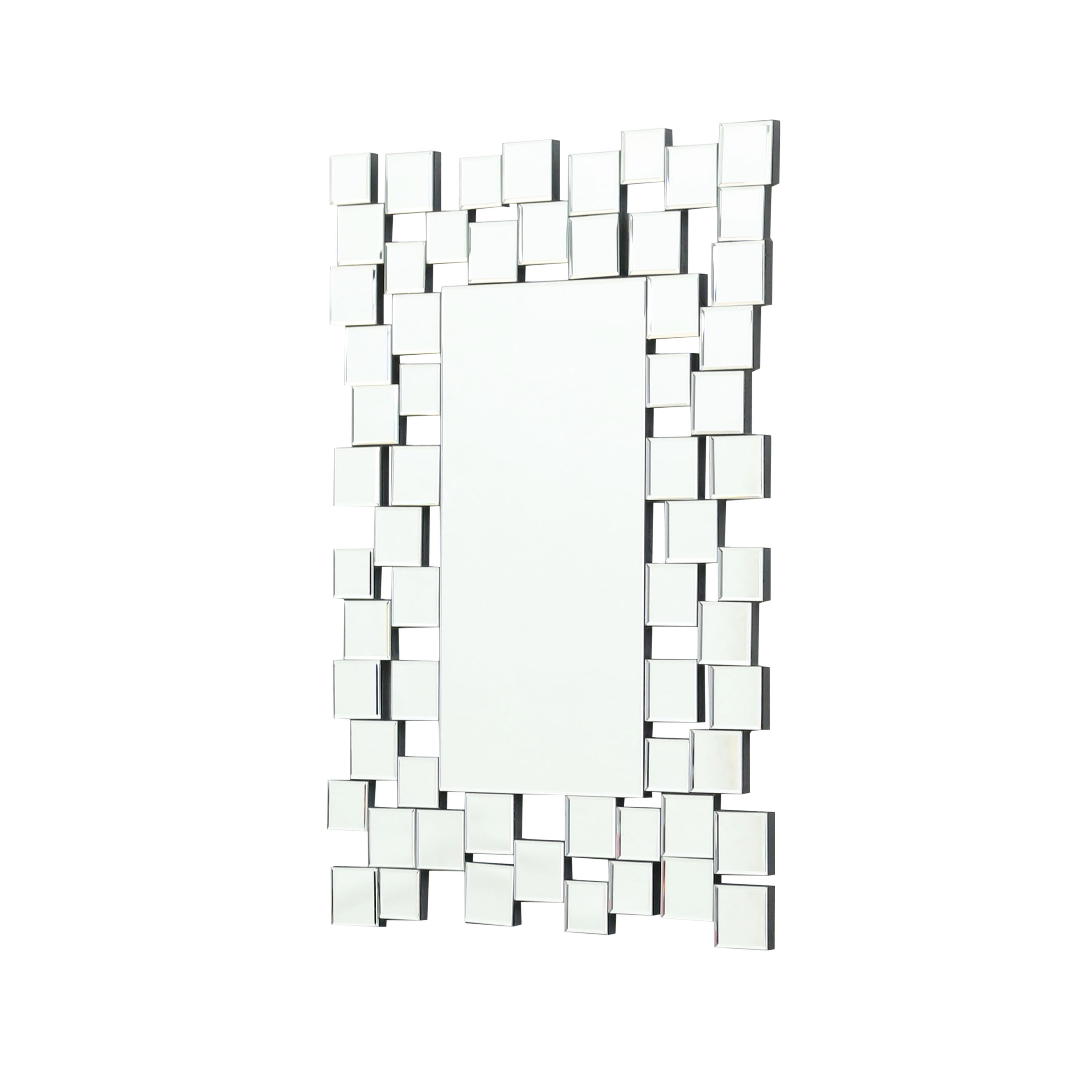 Brayden Studio Modern & Contemporary Accent Wall Mirror Pertaining To Most Recent Pennsburg Rectangle Wall Mirrors (View 15 of 20)