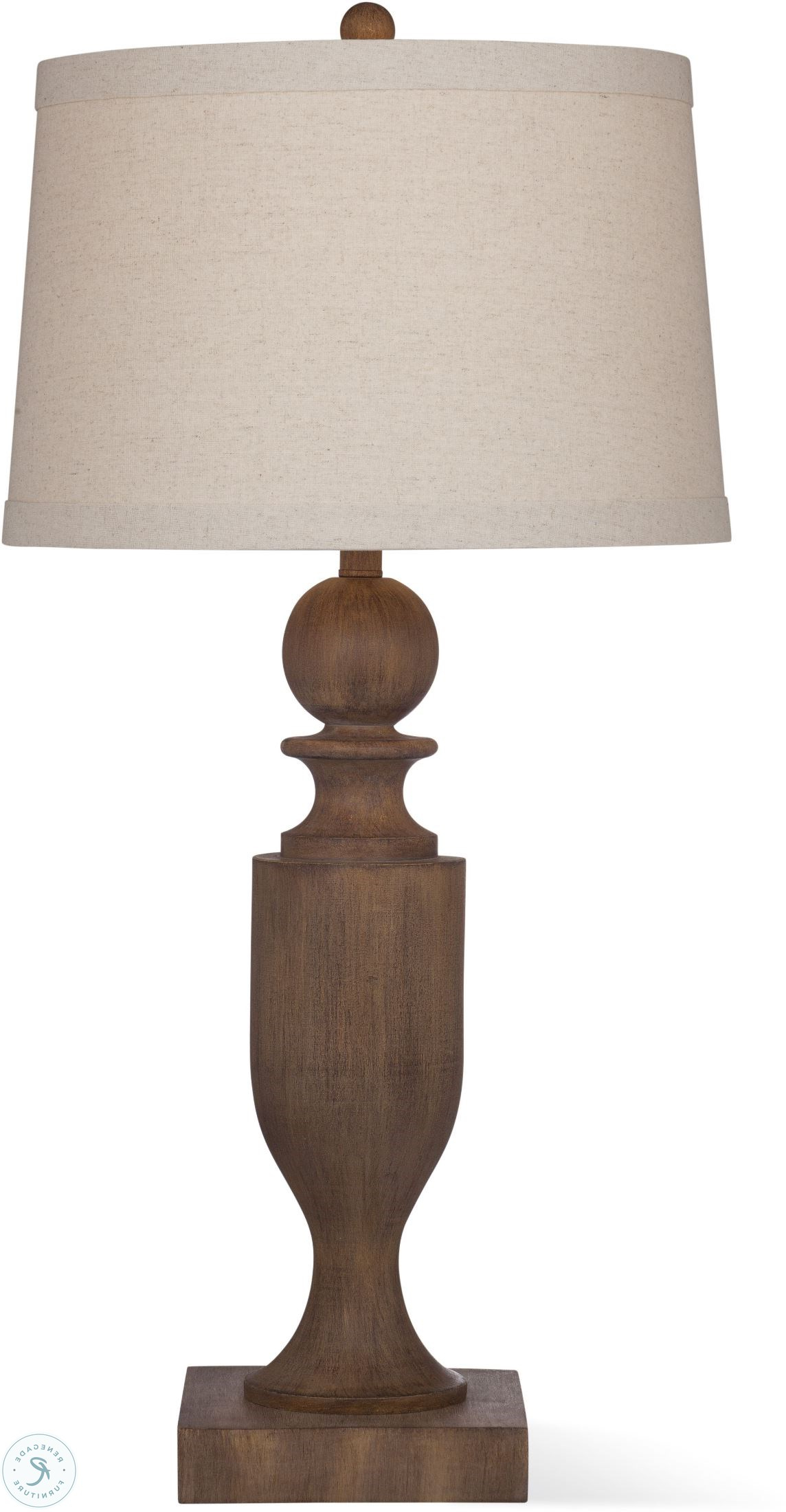 Bricolage Wood Tone Rena Table Lamp Throughout Best And Newest Rena Accent Mirrors (View 5 of 20)