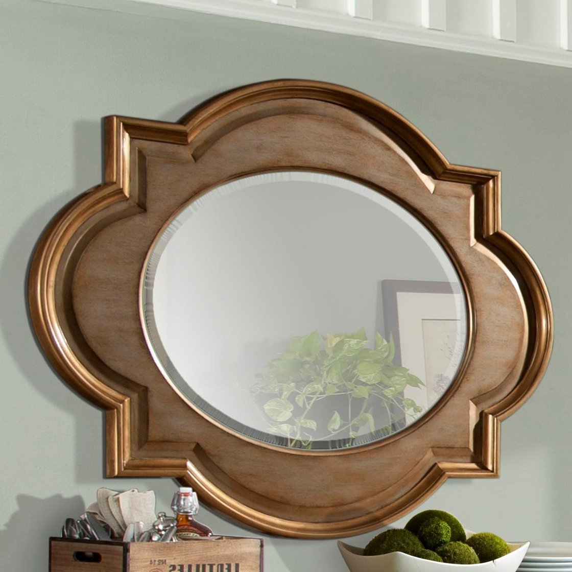 Broadmeadow Glam Accent Wall Mirrors With Popular Bainbridge Wall Mirror (View 6 of 20)