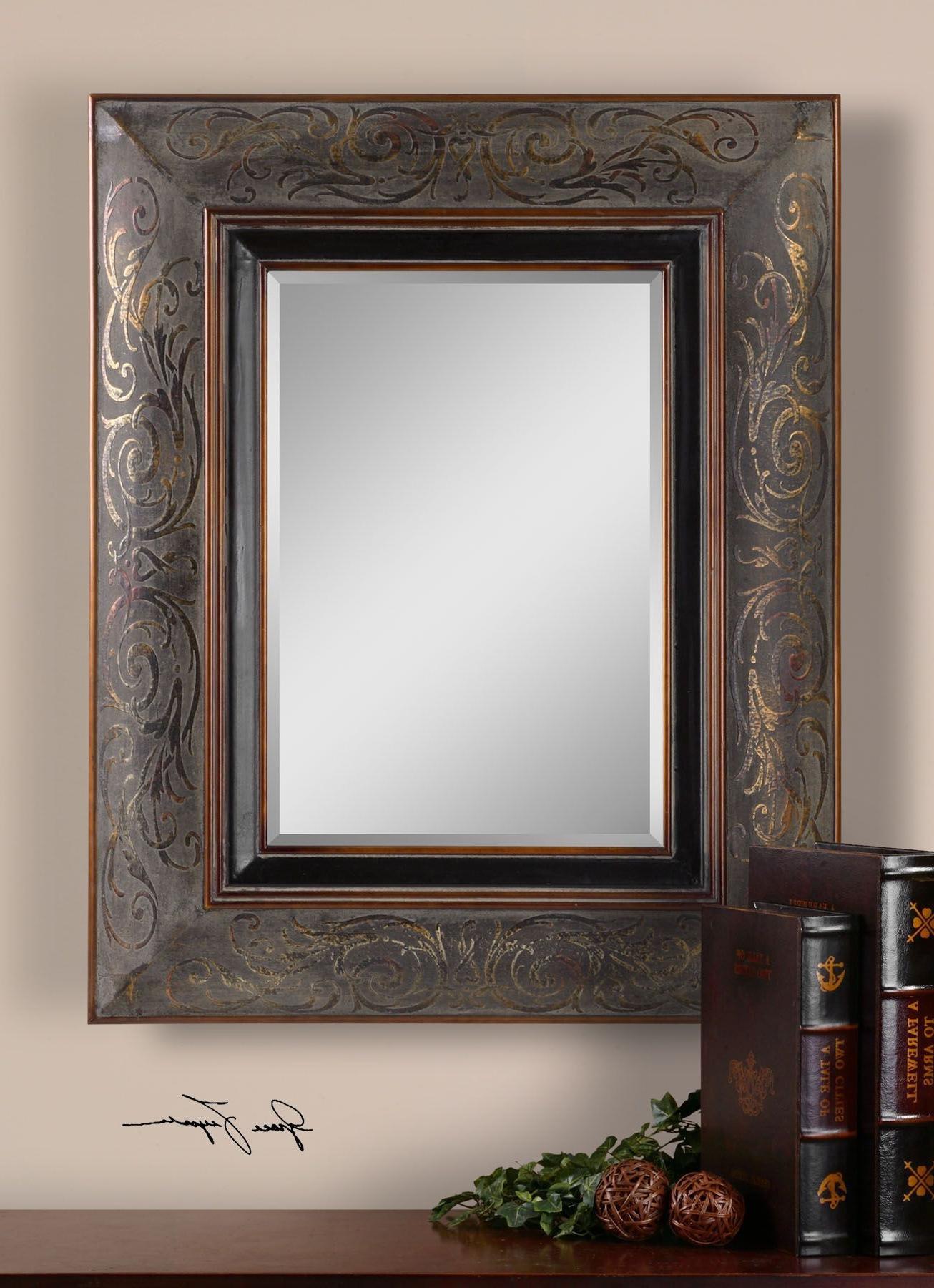 Bronze Mirror Regarding Newest Maude Accent Mirrors (View 12 of 20)