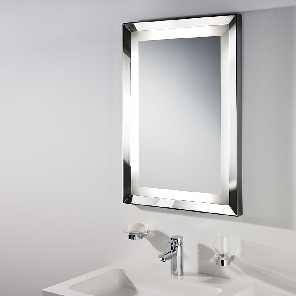 Brushed Nickel Wall Mirrors With Widely Used Top 34 Ace Best Design Ideas For Brushed Nickel Bathroom Mirror (View 9 of 14)