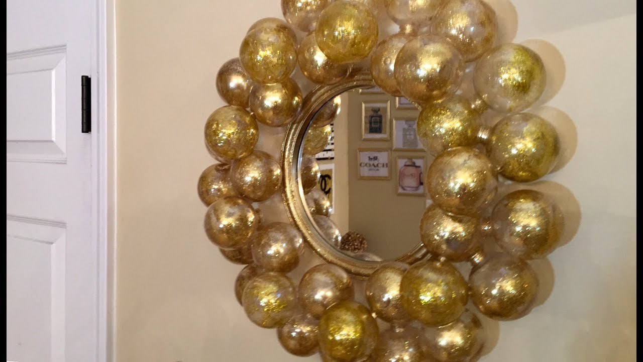 Bubble Wall Mirrors For Newest Dollar Tree Diy – 💕bubble Wall Mirror💕 (View 7 of 20)