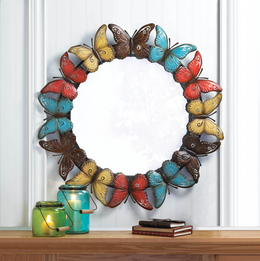 Butterfly Wall Mirrors Inside Current Zingz & Thingz Butterfly Wall Mirror (View 8 of 20)