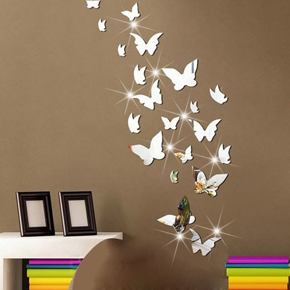 Butterfly Wall With Preferred Butterfly Wall Mirrors (View 1 of 20)