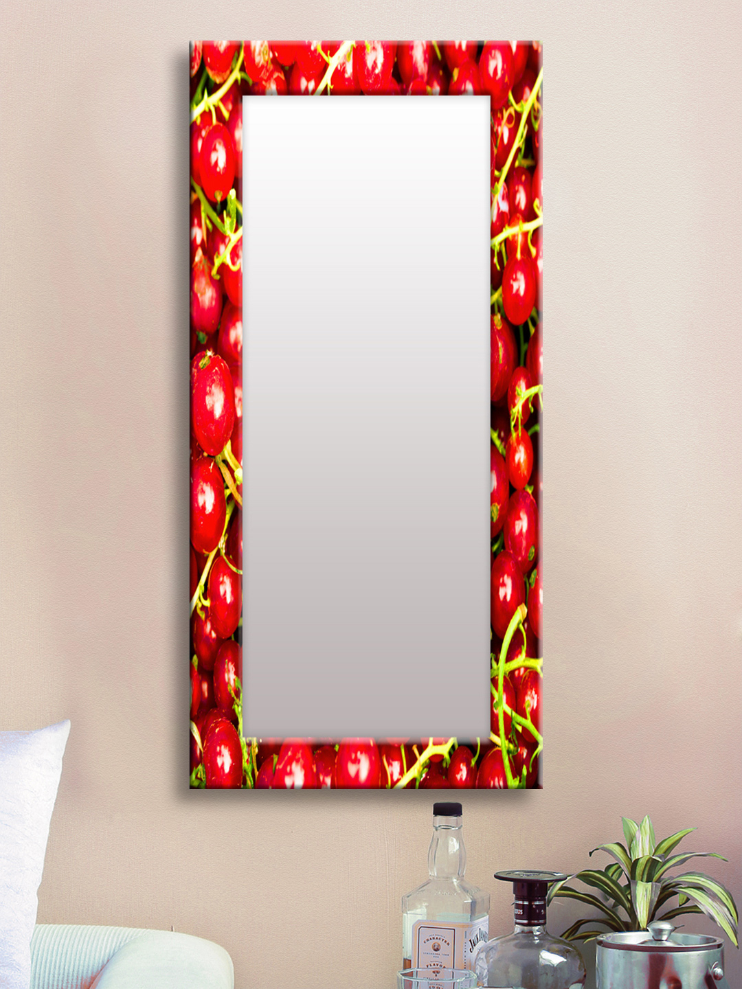 Featured Photo of Red Framed Wall Mirrors