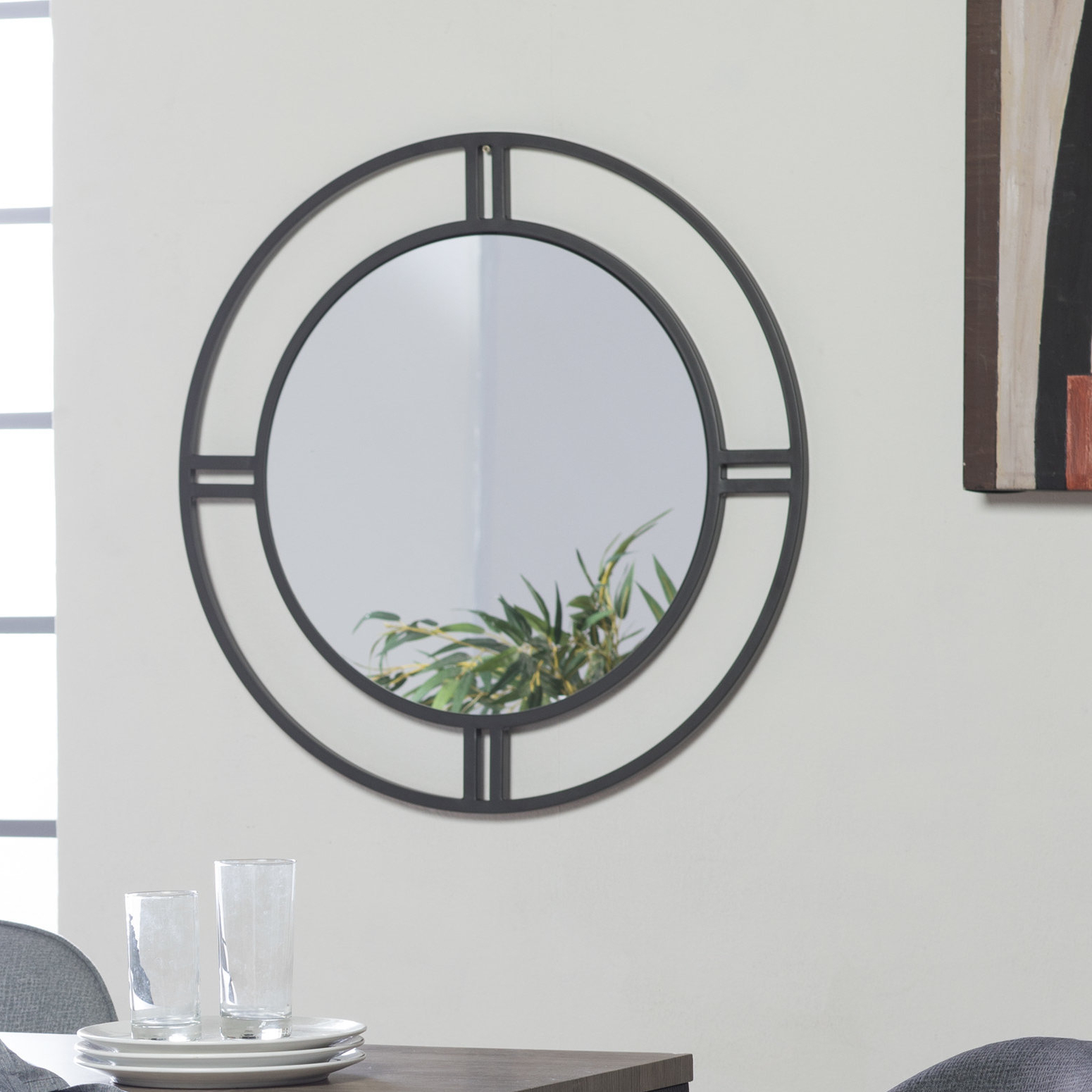 Camber Round Accent Mirror In 2020 Swagger Accent Wall Mirrors (View 12 of 20)