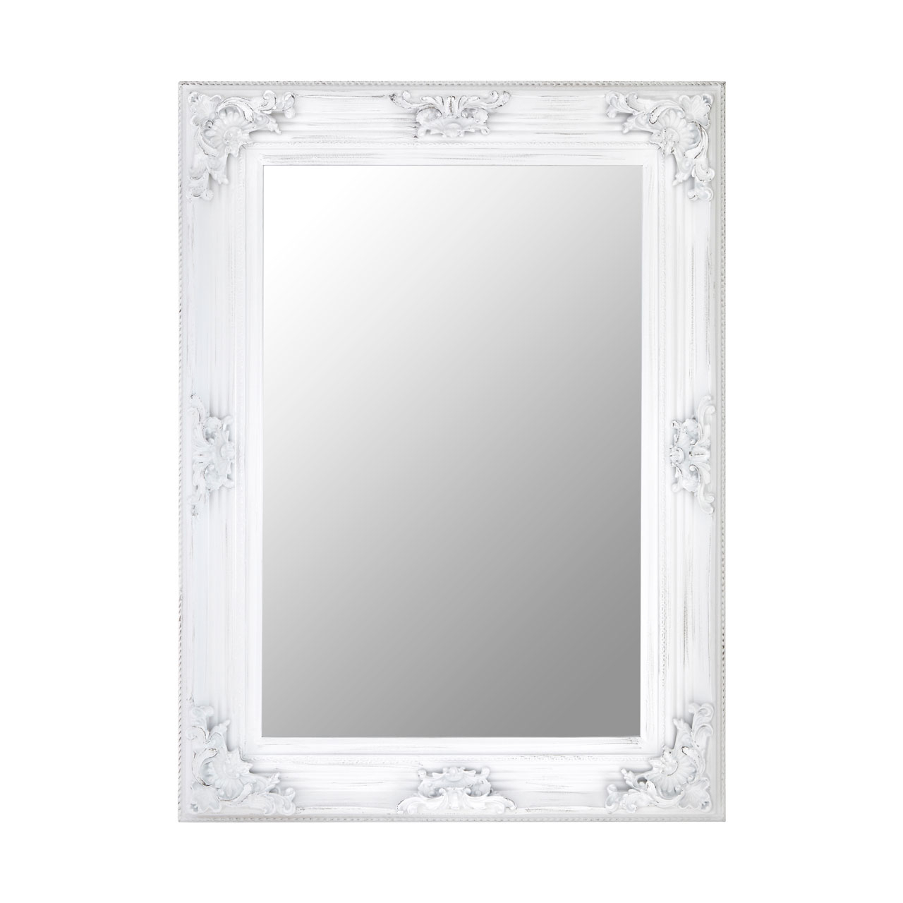 Cantata Antique White Wall Mirror Intended For Preferred Antique White Wall Mirrors (Gallery 8 of 20)