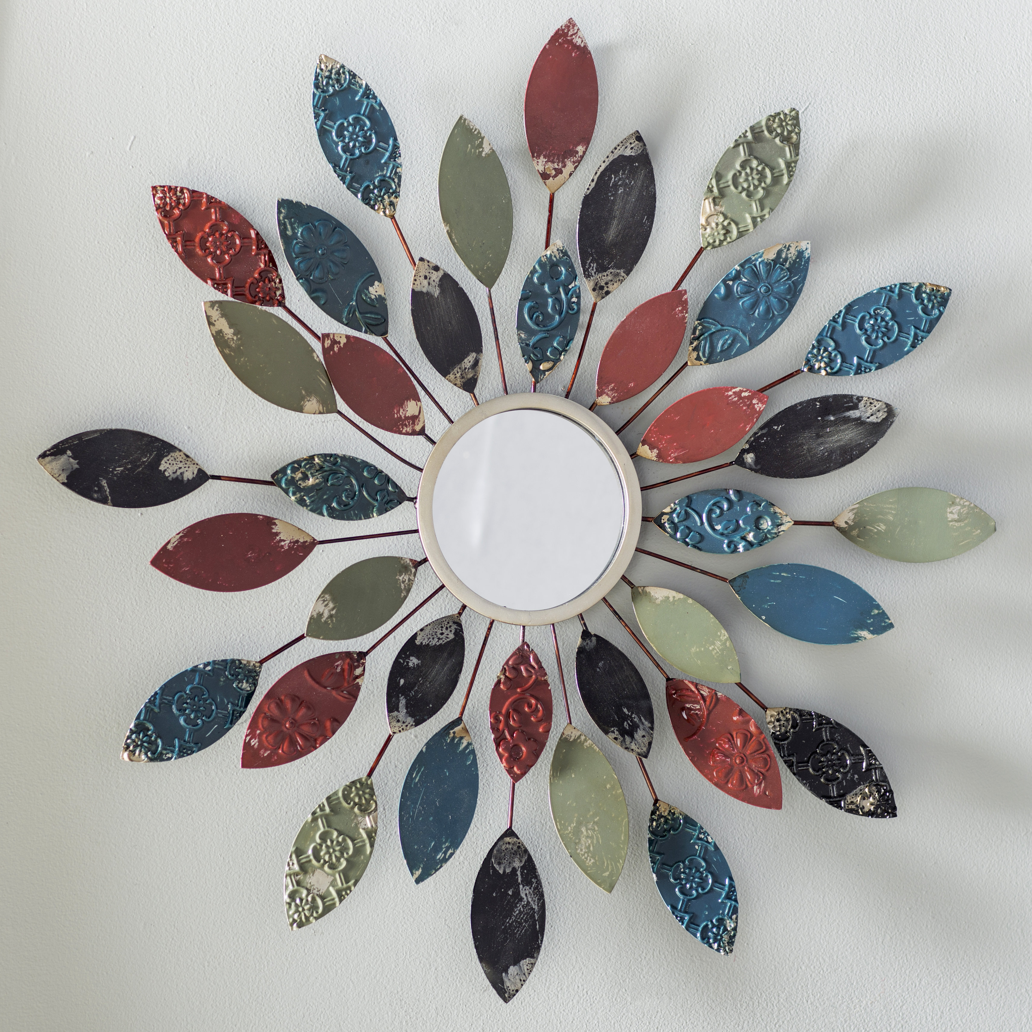 Featured Photo of Carstens Sunburst Leaves Wall Mirrors