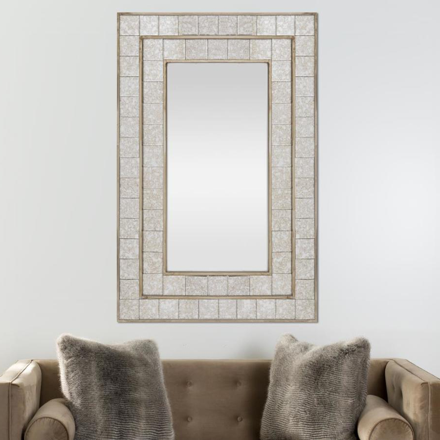 Champagne Wall Mirrors With Most Current Safavieh Talsman 31.5 In L X  (View 16 of 20)