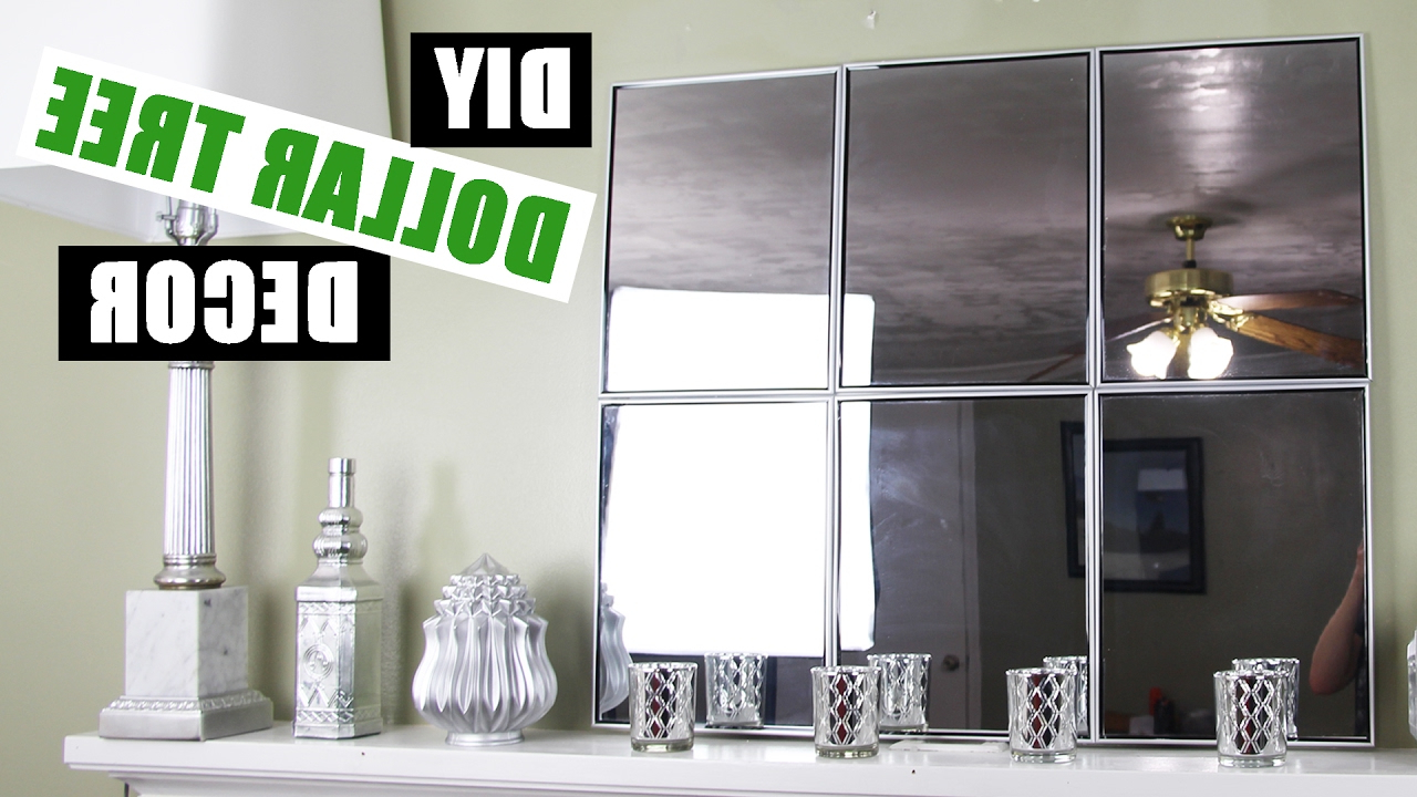 Cheap Diy Mirror Mantle Decor Inside Diy Wall Mirrors (Gallery 1 of 20)