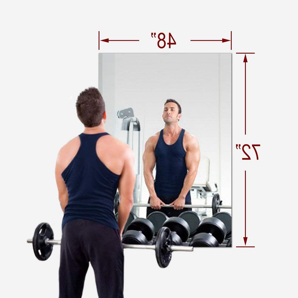 Cheap Gym Wall Mirrors Within Recent Cheap Gym Mirror Wall, Find Gym Mirror Wall Deals On Line At Alibaba (View 5 of 20)