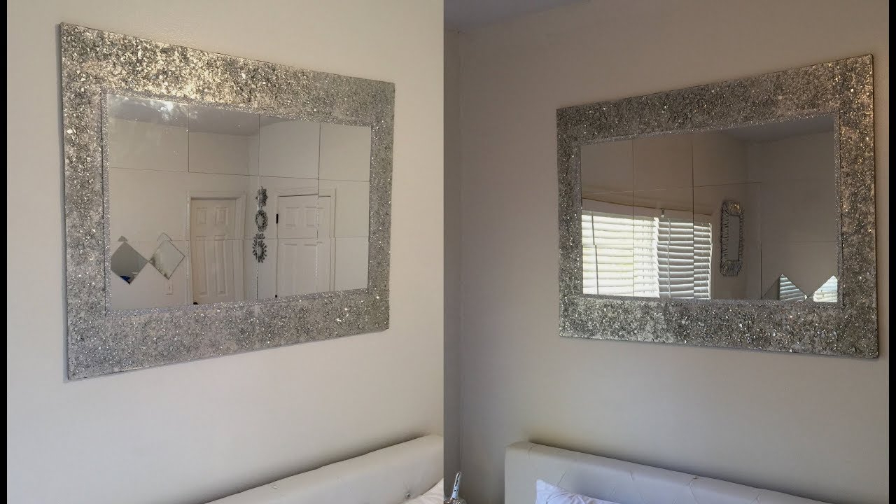 Cheap Long Wall Mirrors In Most Current Dollar Tree Diy – 💕 Huge Decorative Wall Mirror 💕 (View 9 of 20)
