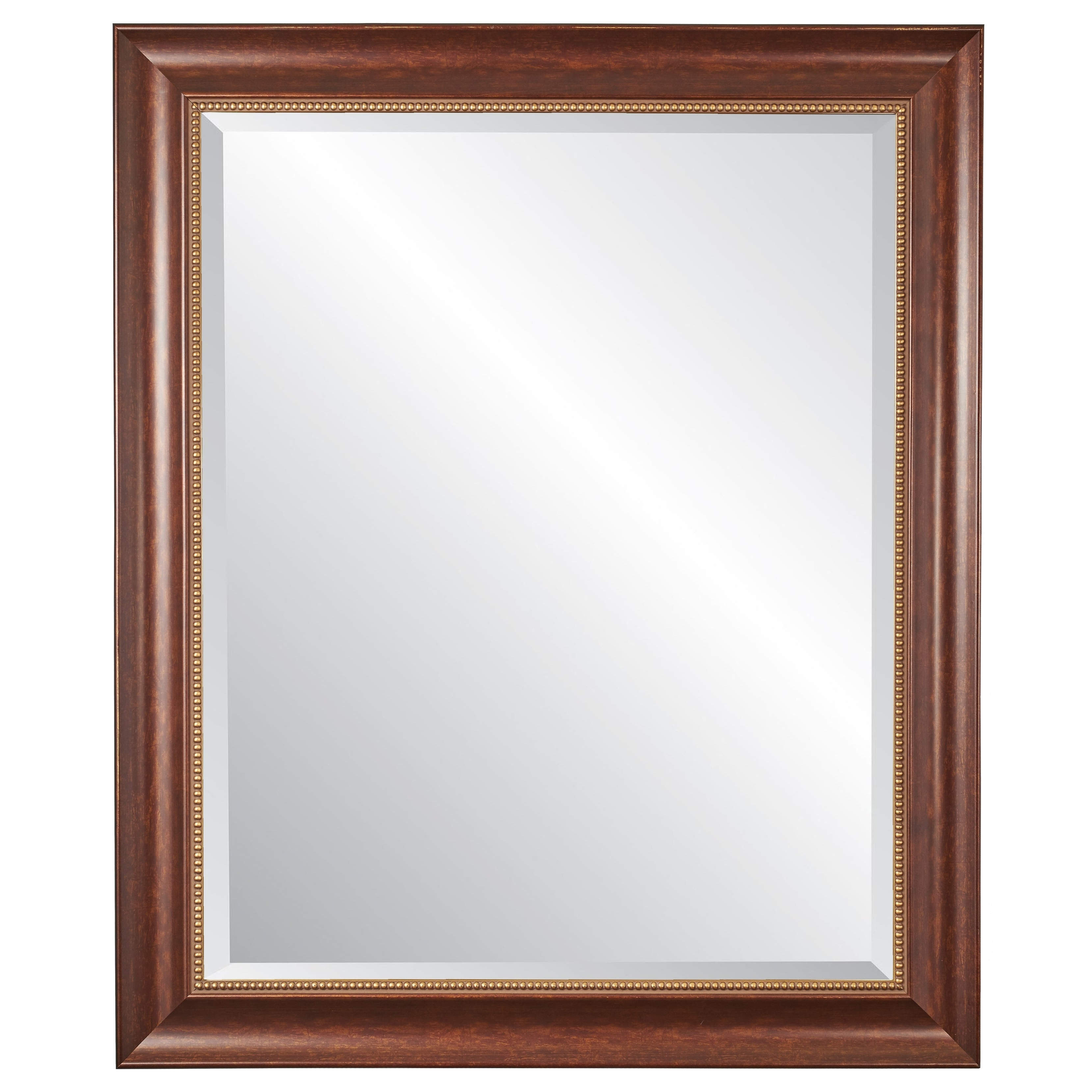 """Cherry Wall Mirror 30"""" X 36"""" For Most Current Cherry Wall Mirrors (View 4 of 20)"""