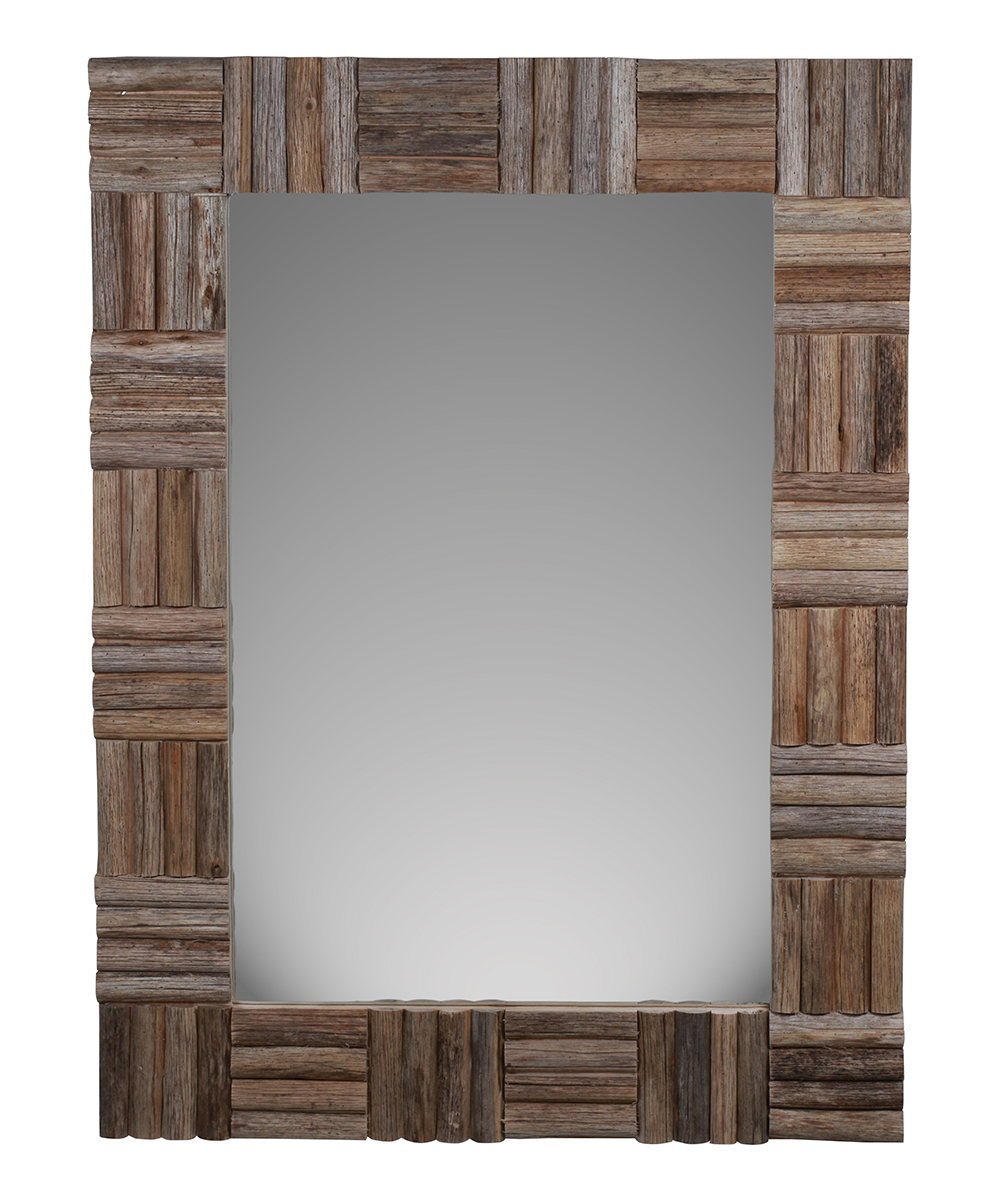 Cheung's Rattan Imports Wood Frame Wall Mirror For Current Wood Framed Wall Mirrors (View 15 of 20)