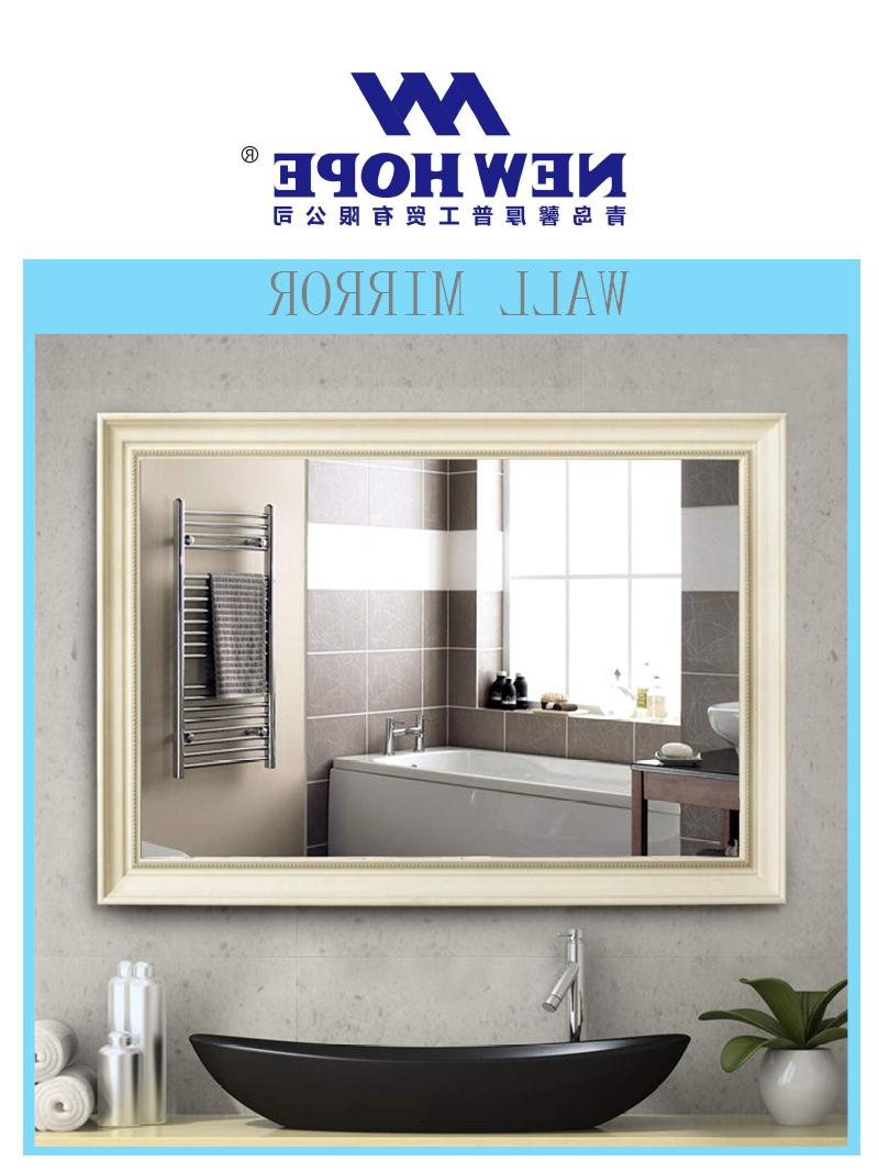 China Fancy Low Price Bathroom Wall Mirror – Buy Modern Golden Frame Mirror Colored Silver Mirror,hotel Toilet Mirror,washroom Vanity Hotel Mirror Regarding Current Fancy Bathroom Wall Mirrors (View 5 of 20)