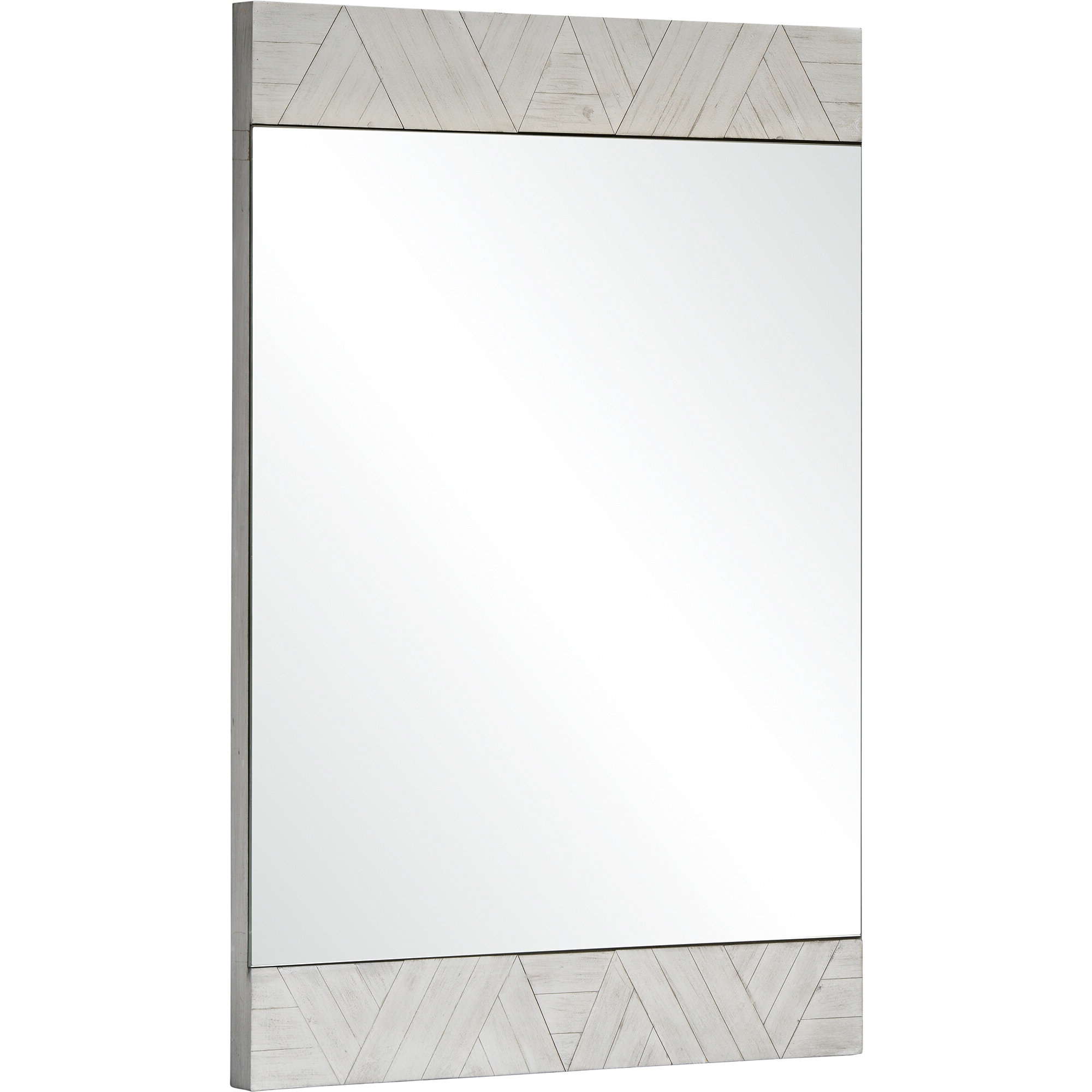 Chokio Rustic Accent Mirror With 2020 Rena Accent Mirrors (View 6 of 20)
