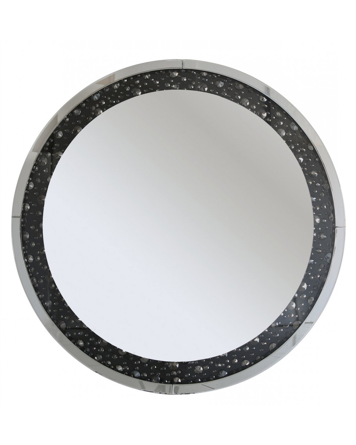 Cimc Home Pertaining To Recent Round Black Wall Mirrors (View 8 of 20)