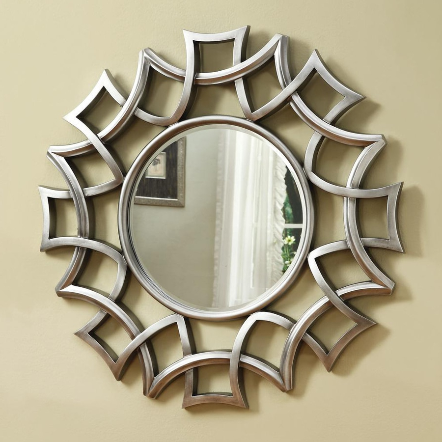 Circular Wall Mirror – Mirror Ideas With Regard To Current Chrome Wall Mirrors (View 18 of 20)