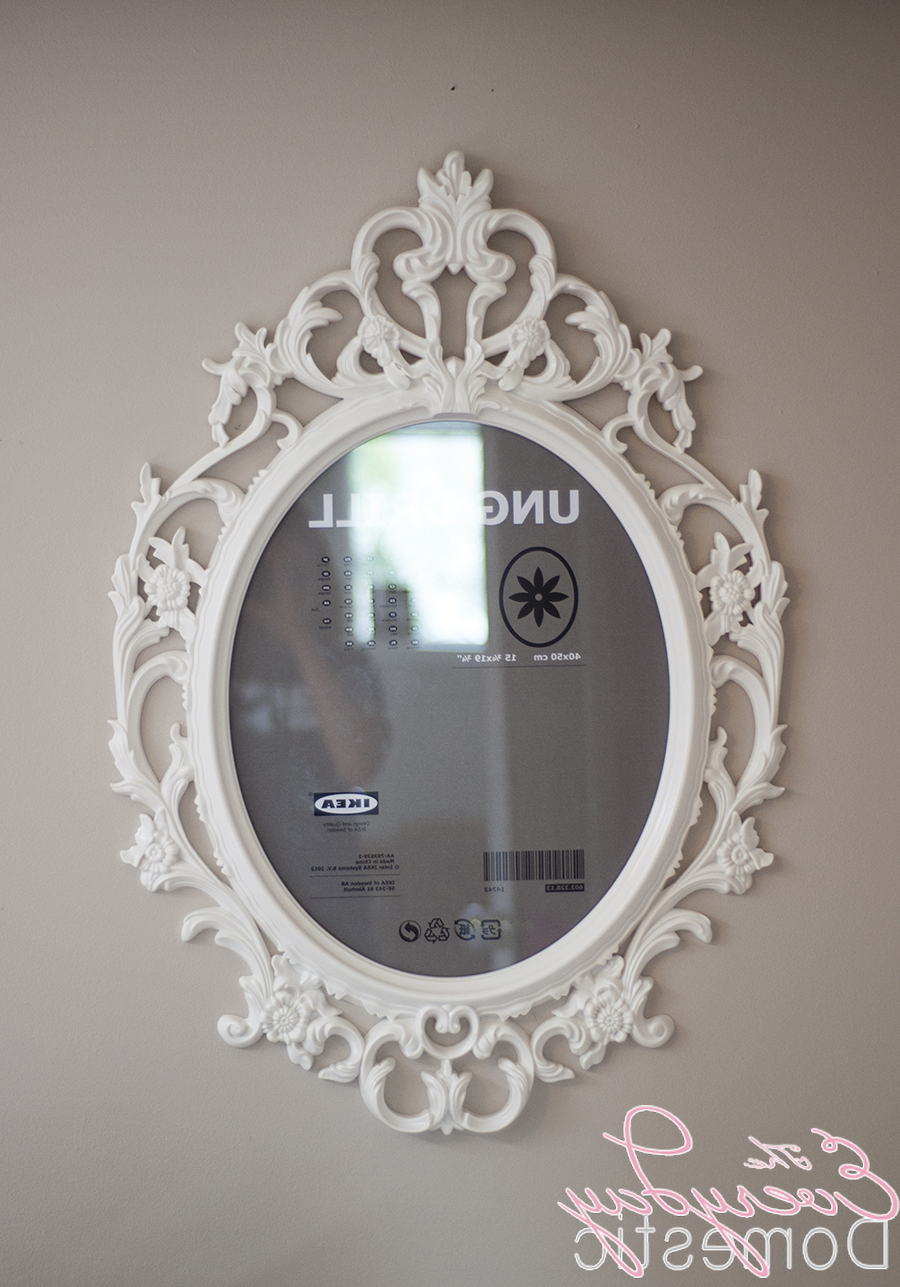 Classic Wall Mirrors In Newest Interior Design Cool Ikea Mirror Designs With Classic Wall Natural (View 10 of 20)