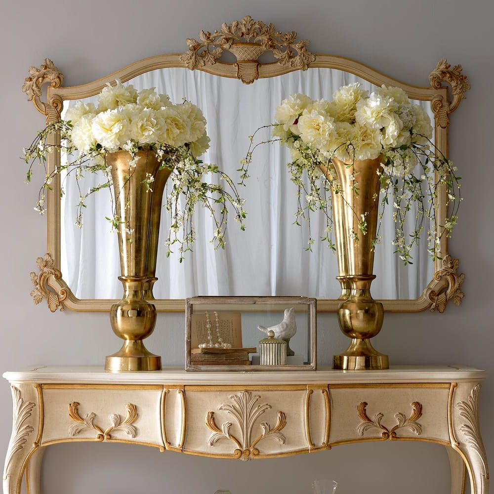 Classic Wall Mirrors Regarding Well Known Large Luxury Italian Designer Classic Wall Mirror (View 3 of 20)