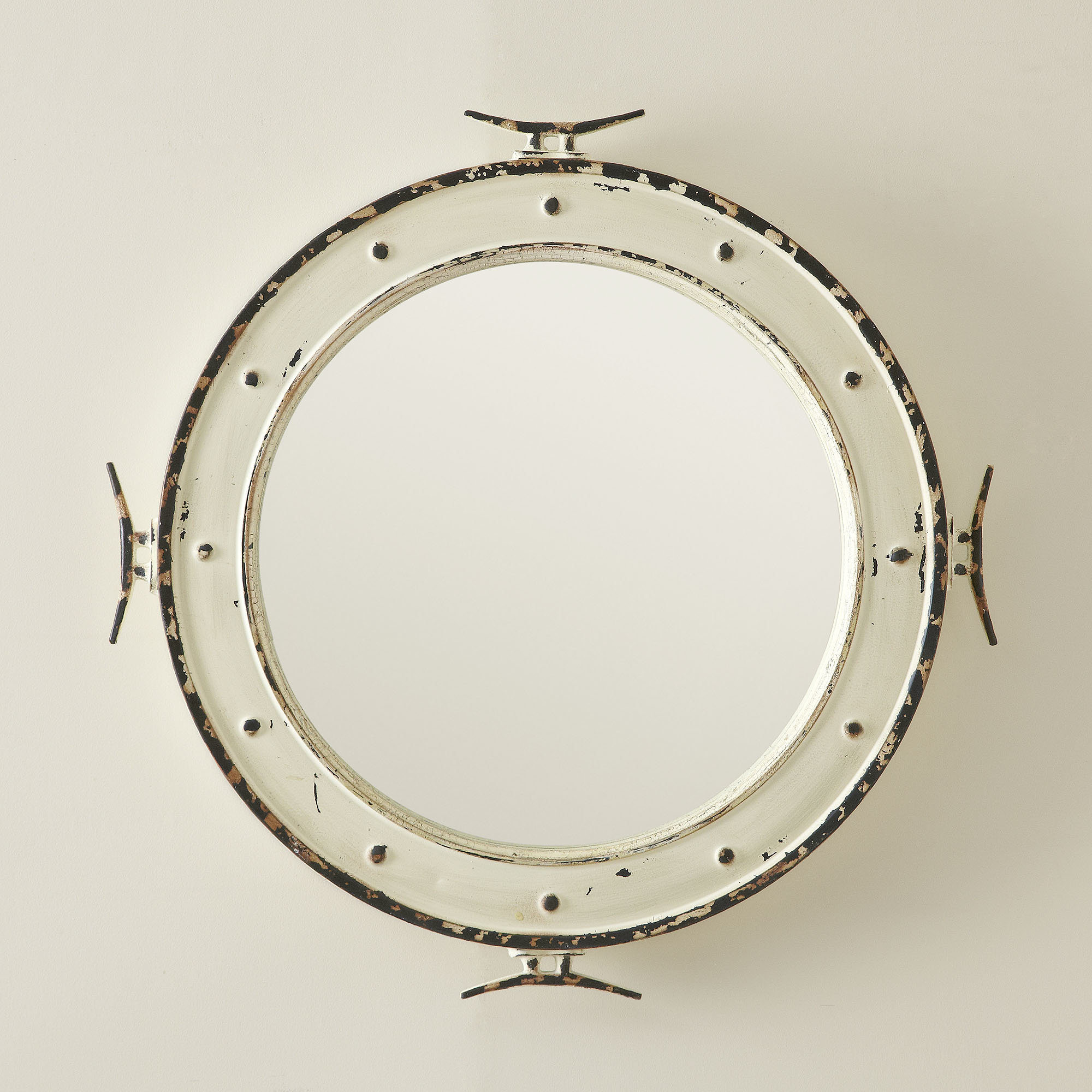 Coastal Style Wall Mirrors Pertaining To Well Known Mcmillen Coastal Wall Mirror (View 13 of 20)