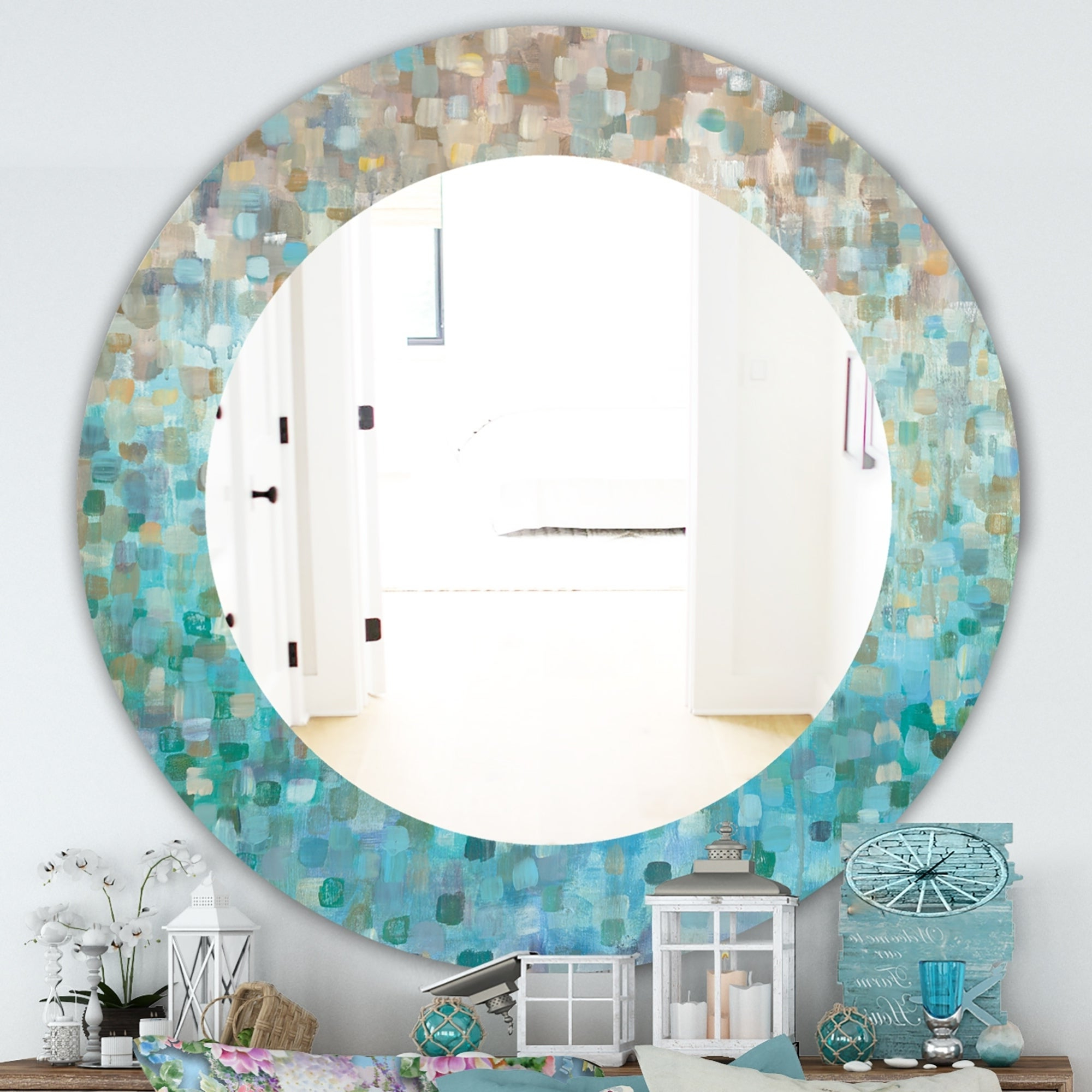 Coastal Style Wall Mirrors Throughout Current Nautical & Coastal Mirrors (View 18 of 20)