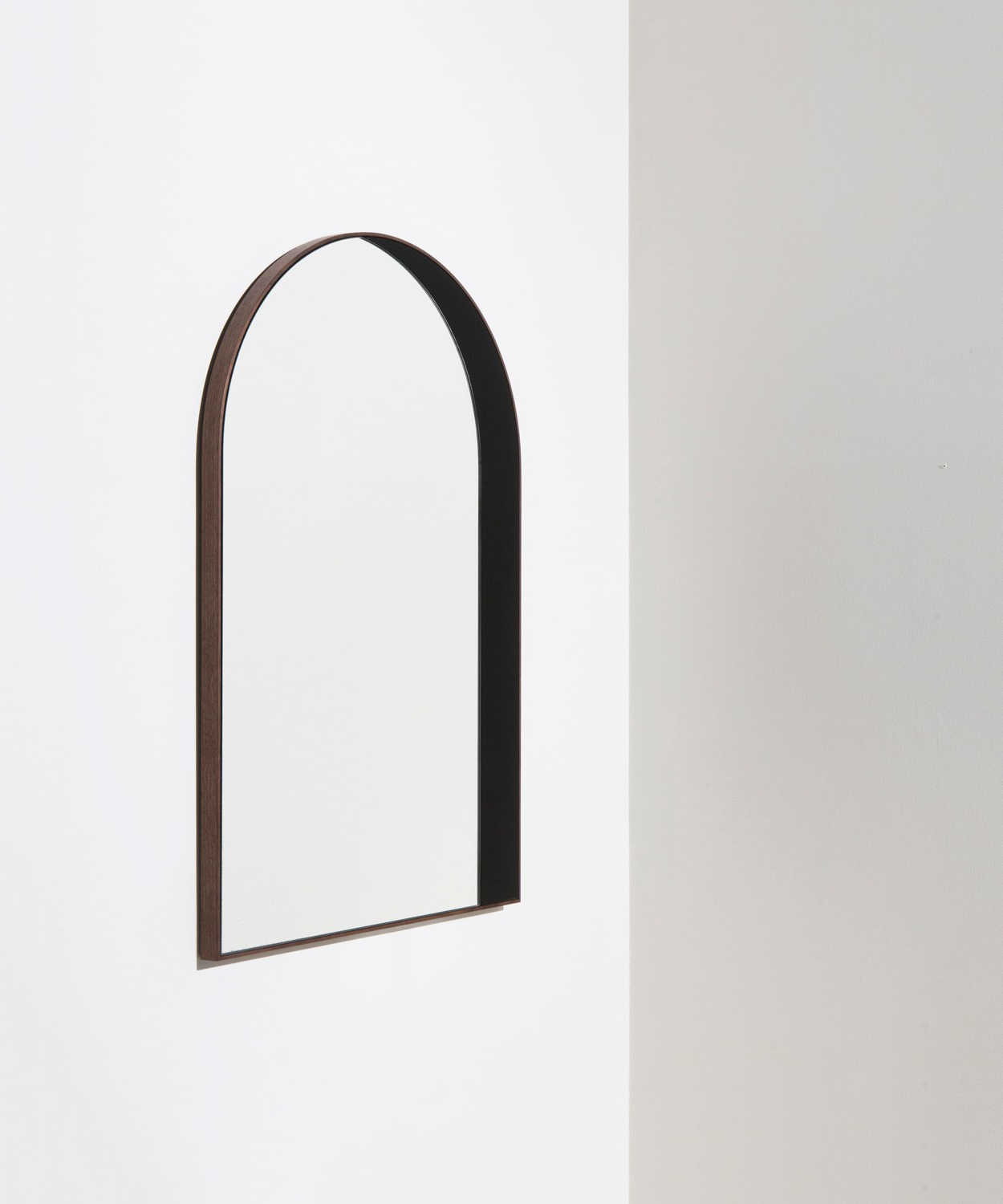 Contemporary Black Wall Mirrors In Famous Arch Window Mirror – Bower Studios (View 17 of 20)