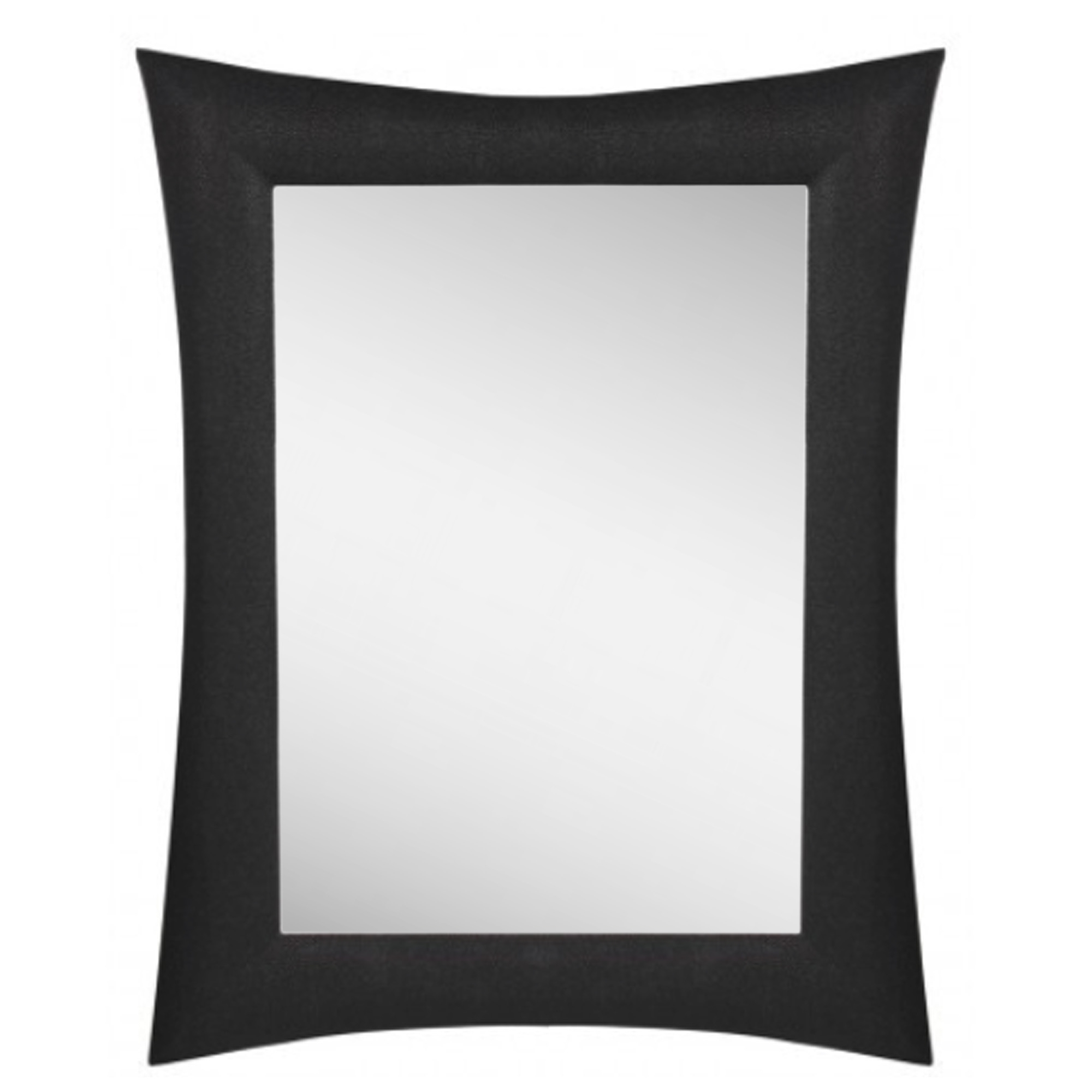 Contemporary Black Wall Mirrors With Regard To Most Recently Released Lakeland Black Wall Mirror (View 9 of 20)