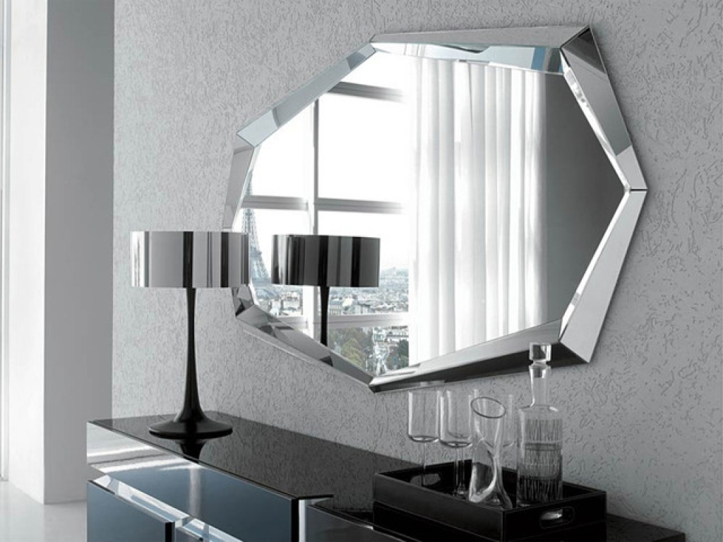 Contemporary Wall Mirrors Decorative : Modern Decorative Within Popular Modern Contemporary Wall Mirrors (Gallery 7 of 20)