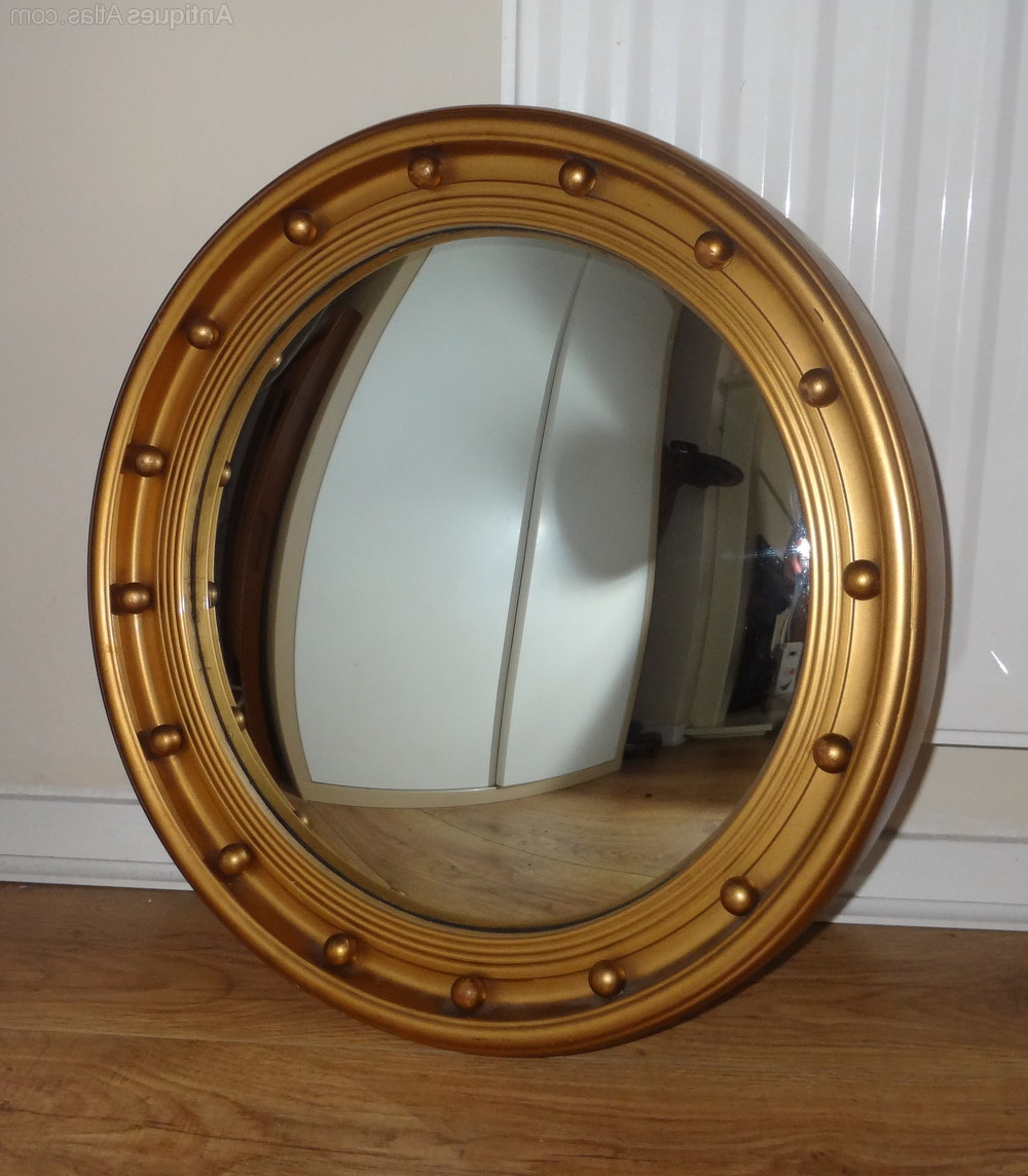 Convex Wall Mirrors With Regard To Most Recent Vintage Convex Mirror (View 7 of 20)
