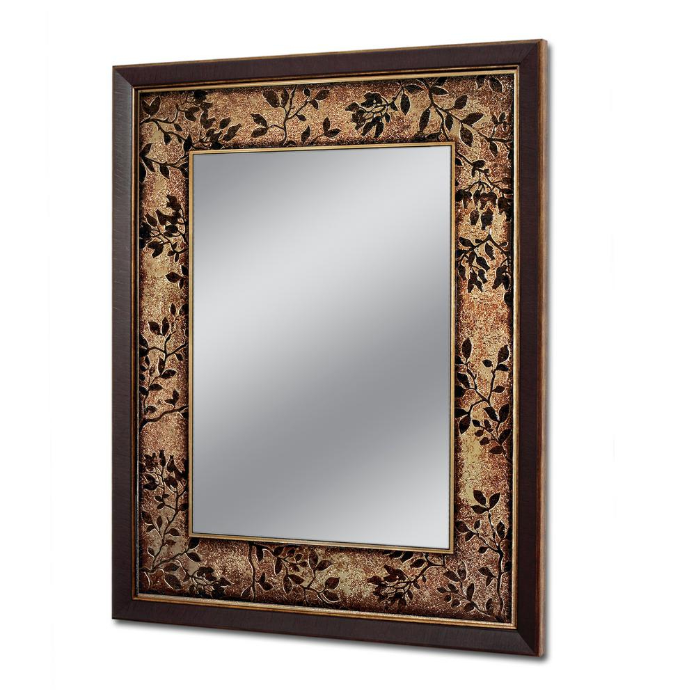 Copper Wall Mirrors With Well Known Deco Mirror 26.75 In. W X 32.75 In (View 6 of 20)