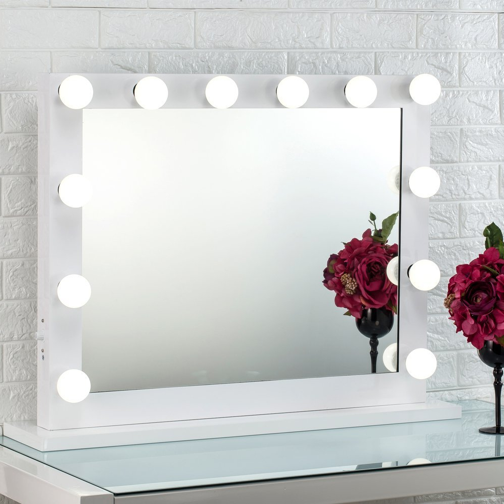 Cosmetic Wall Mirrors Pertaining To Most Up To Date The 7 Best Lighted Makeup Mirrors You Can Get On Amazon For  (View 9 of 20)