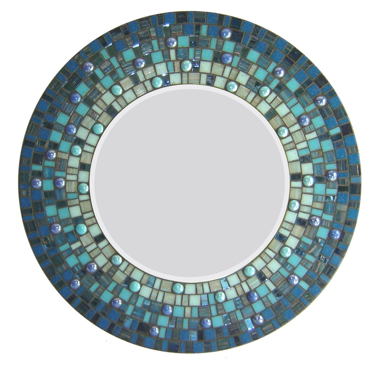 Featured Photo of Round Mosaic Wall Mirrors