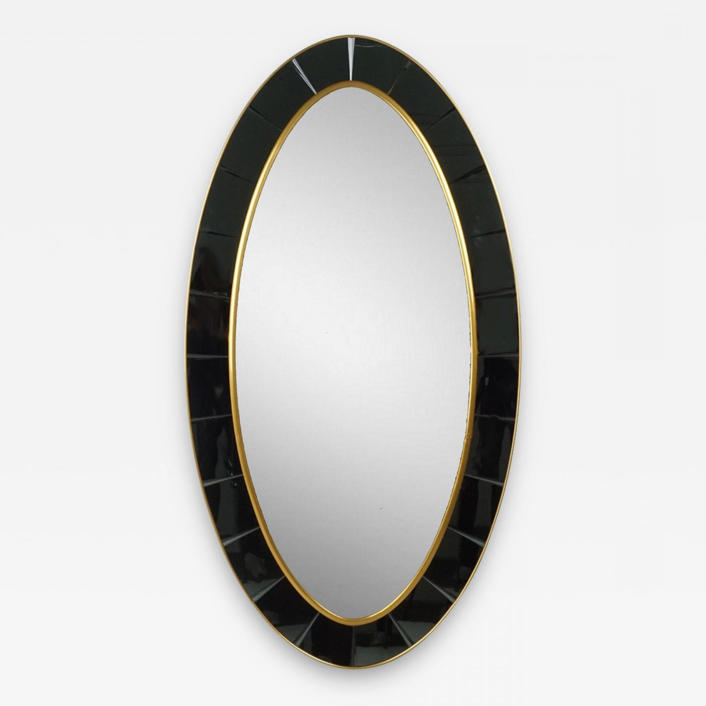 Cristal Arte – Full Length Oval Mirrorcristal Art Inside Most Current Oval Full Length Wall Mirrors (View 17 of 20)