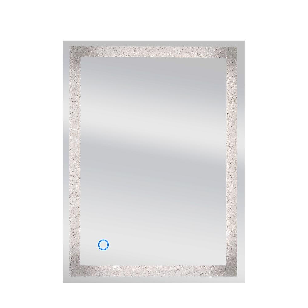 Crystal Wall Mirrors In Well Liked Dyconn 24 In. X 32 In (View 10 of 20)