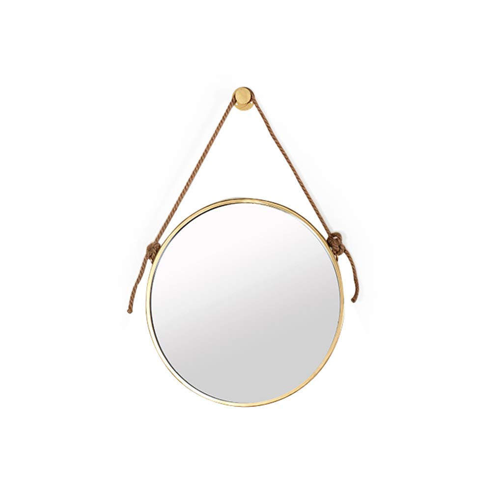 Current Amazon: Wall Mirror Hanging Round Mirror Diameter 40/50/60cm Pertaining To Shatterproof Wall Mirrors (View 5 of 20)