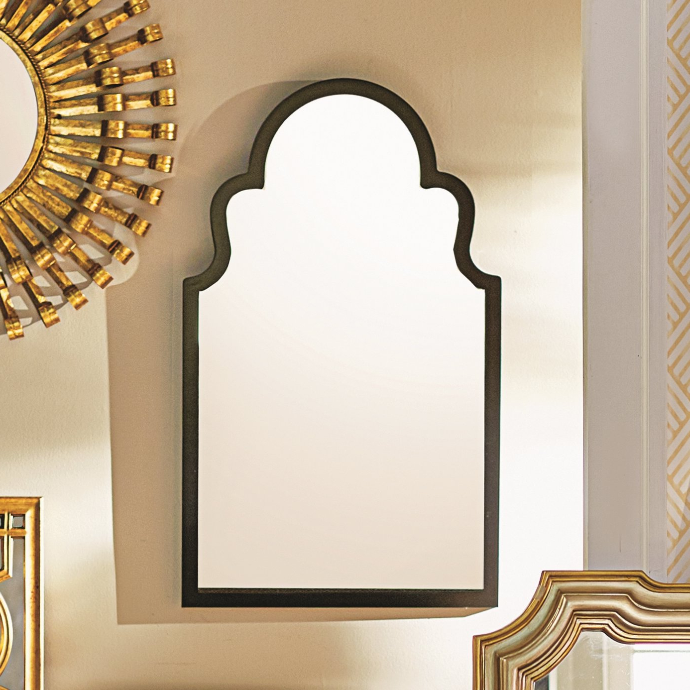 Current Arch Wall Mirrors With Fifi Contemporary Arch Wall Mirror (View 7 of 20)