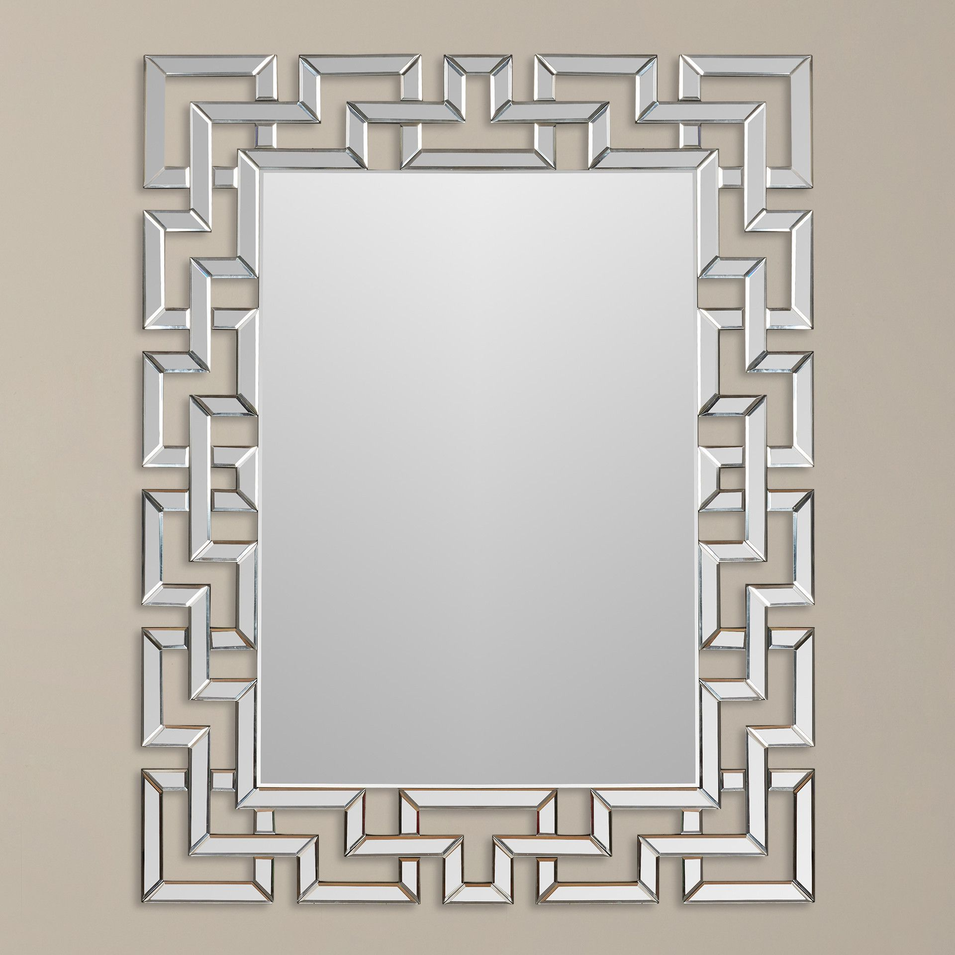 Current Caja Rectangle Glass Frame Wall Mirrors In All Time Best Cool Tips: Silver Wall Mirror Home Wall Mirror (View 9 of 20)