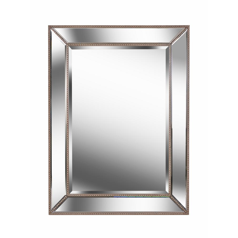 Current Champagne Wall Mirrors Throughout Kenroy Home Ridley Champagne Wall Mirror 60417 – The Home Depot (View 8 of 20)