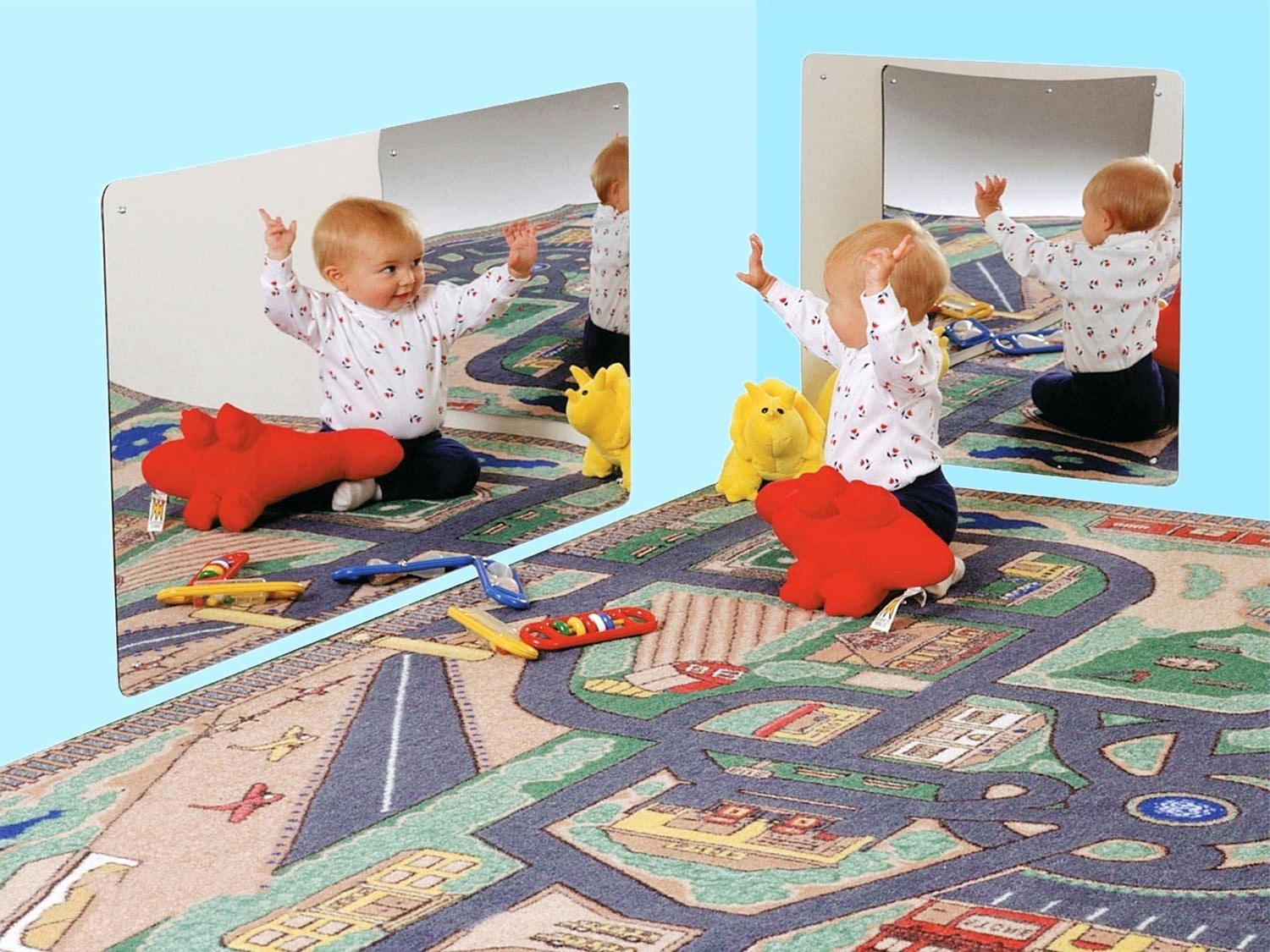 Current Children Wall Mirrors In Child Wall Mirror Starting At Kid Safe – Theefix (View 15 of 20)