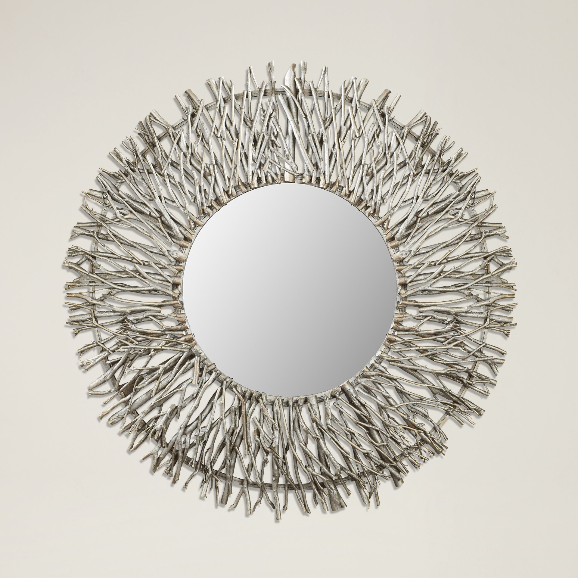 Current Cromartie Tree Branch Wall Mirror Intended For Lidya Frameless Beveled Wall Mirrors (View 14 of 20)