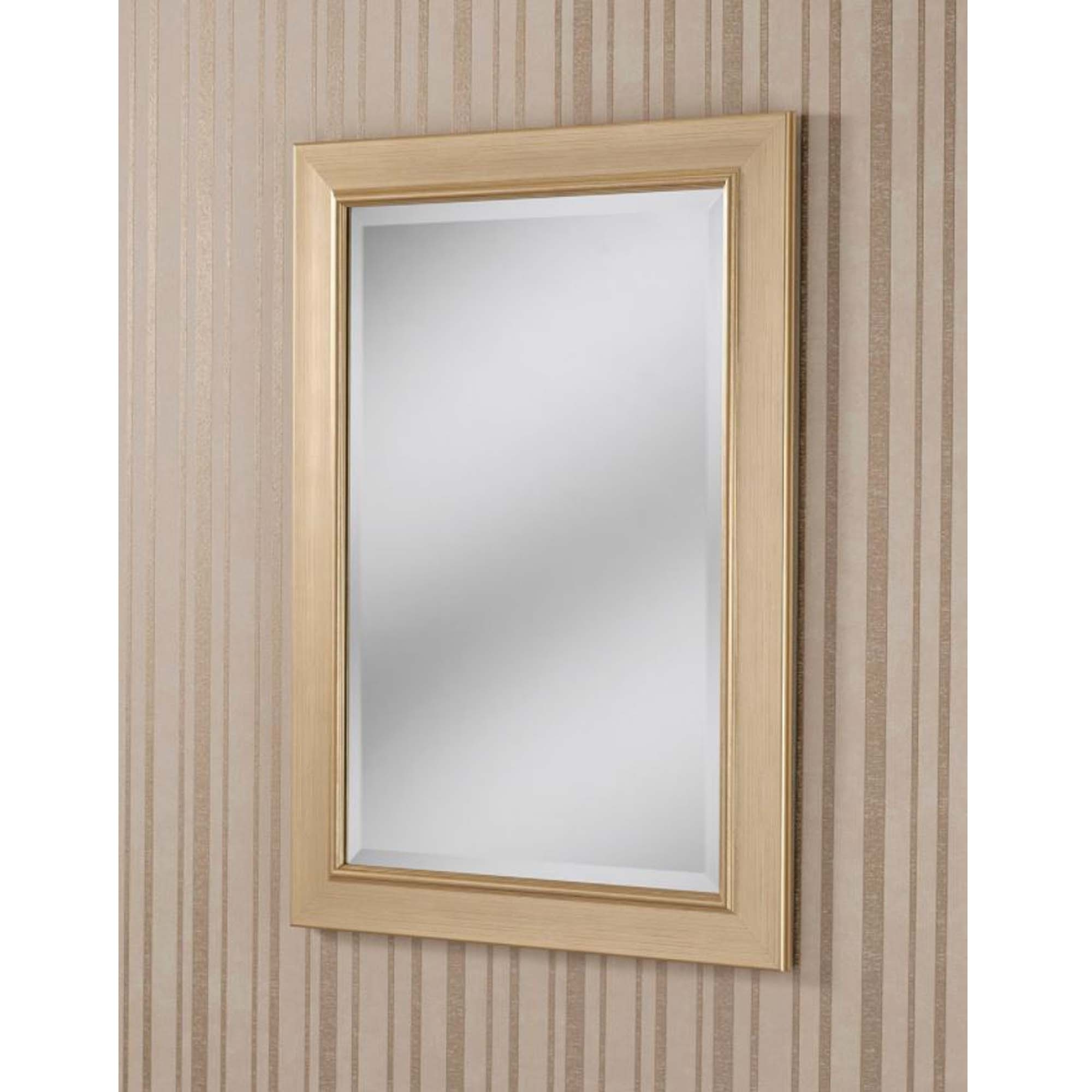 Current Decorative Gold Framed Rectangular Wall Mirror Pertaining To Decorative Framed Wall Mirrors (View 16 of 20)