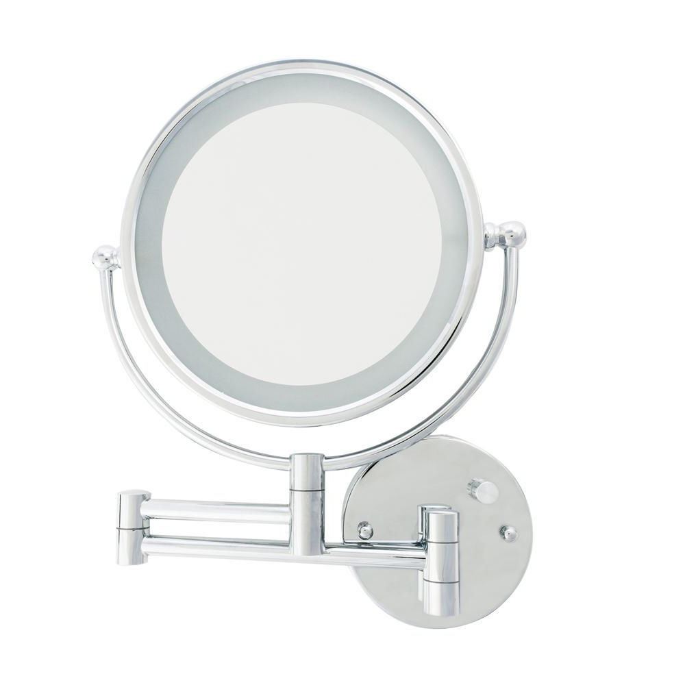 Current Extension Arm Wall Mirrors Regarding Danielle Led Wall Mount Mirror With Extension Arm (View 7 of 20)
