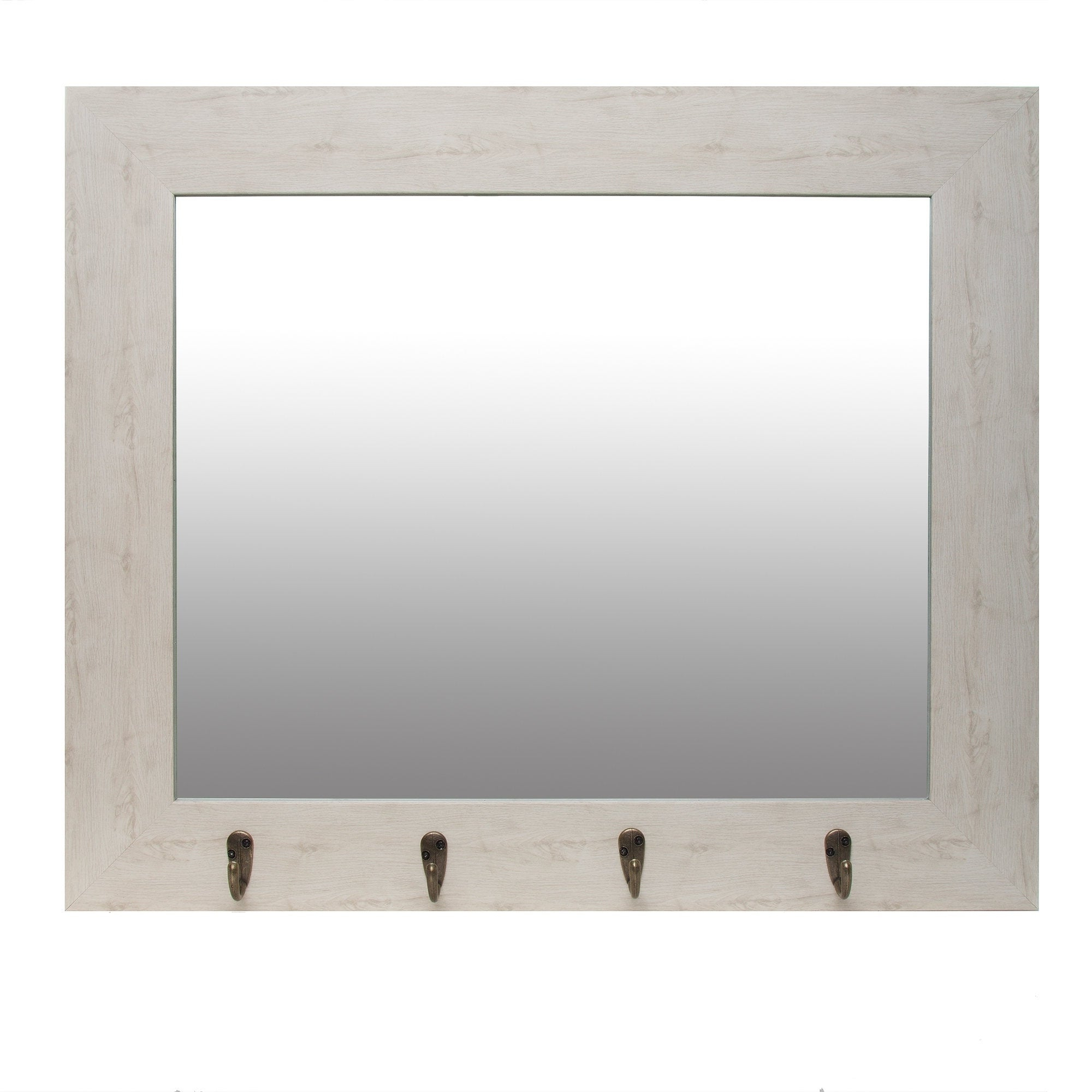 Current Foyer Wall Mirror With Hooks Inside Wall Mirrors With Hooks (View 4 of 20)