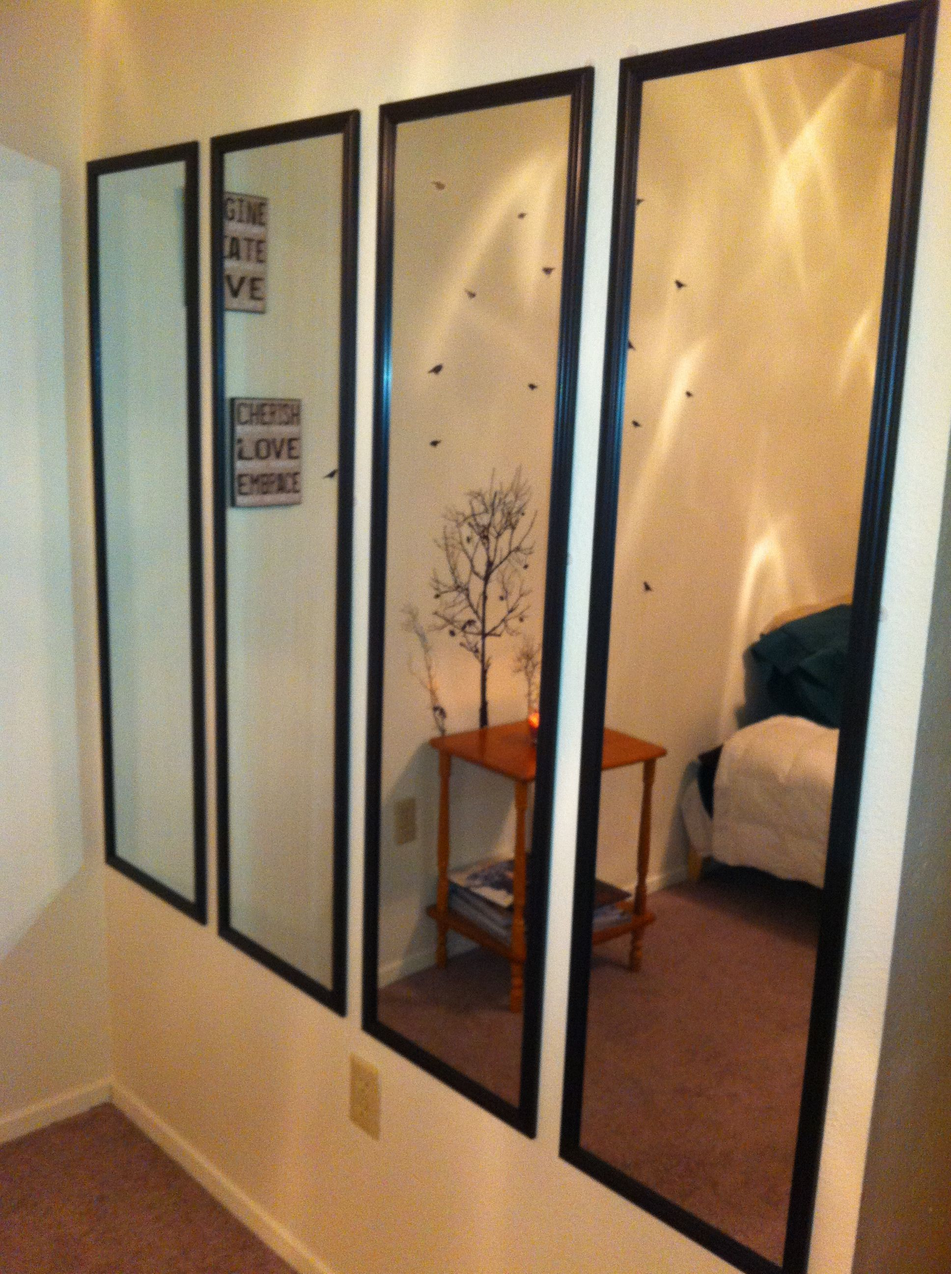 Current Have An Empty Wall? Cover It Will Slim Mirrors, They Are Cheap And For Slim Wall Mirrors (Gallery 6 of 20)
