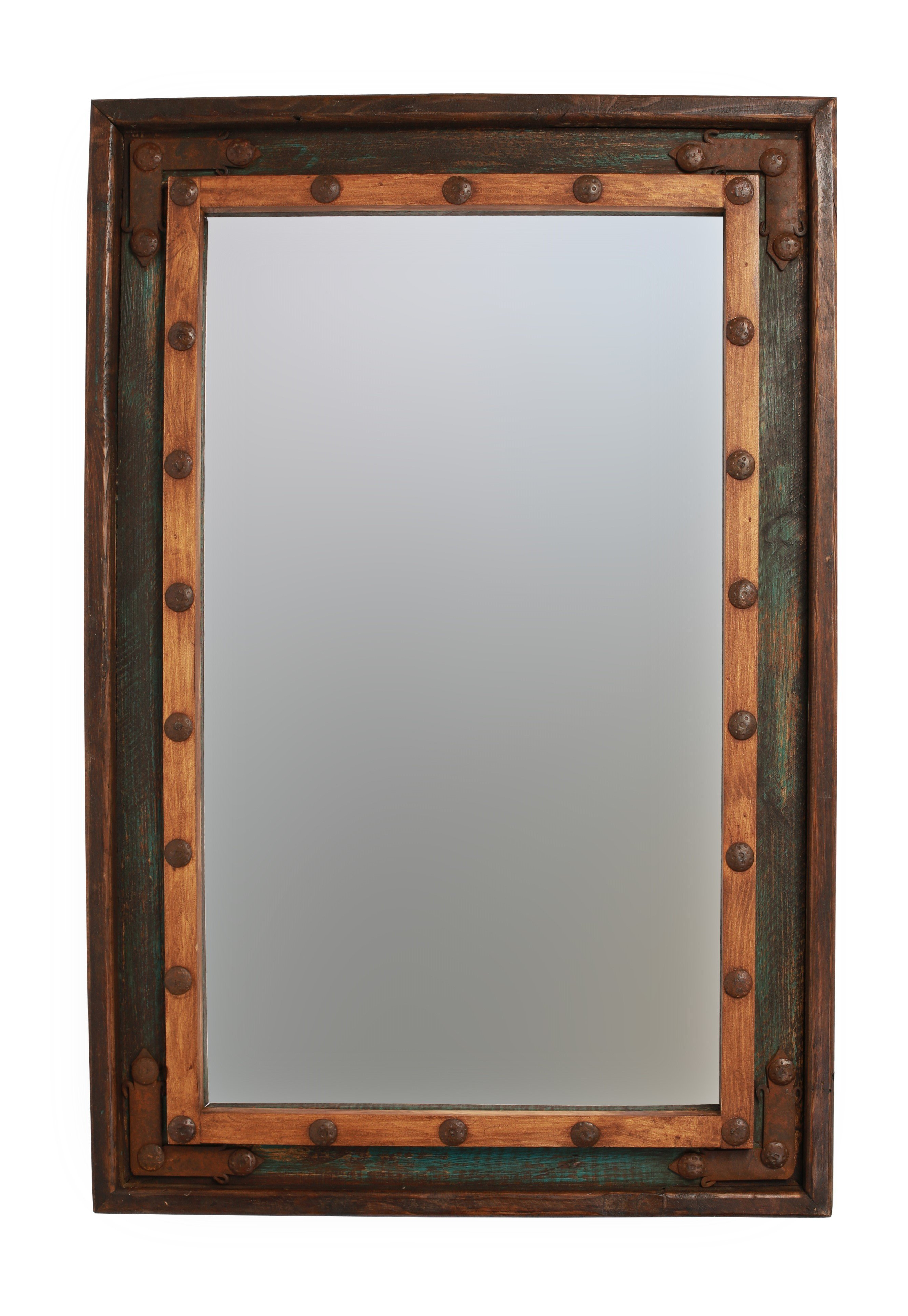 Current Islemade Rustic Distressed Bathroom/vanity Mirror With Kristy Rectangular Beveled Vanity Mirrors In Distressed (View 2 of 20)