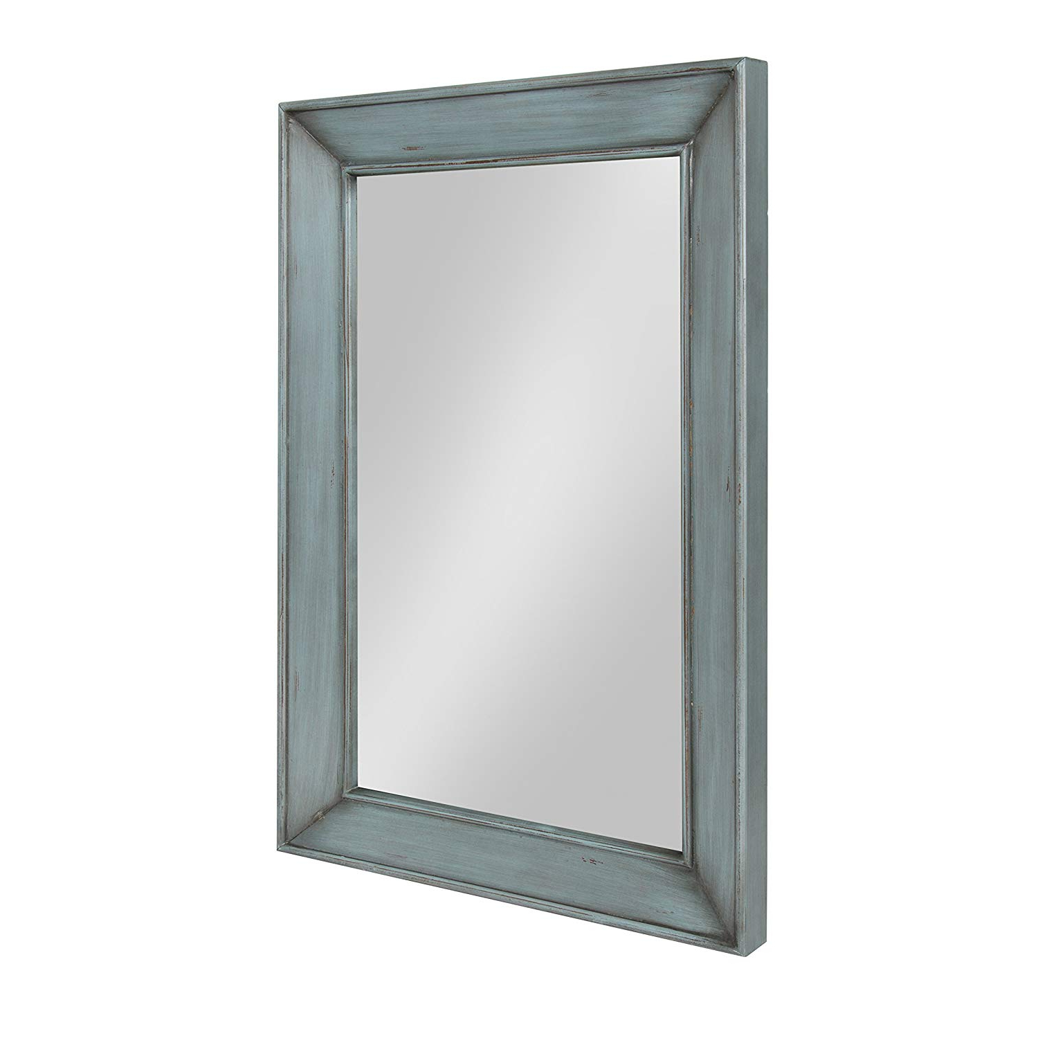 Current Kate And Laurel Yuda Wooden Rectangle Framed Wall Mirror, (View 7 of 20)