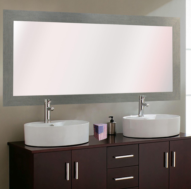 Current Landover Bathroom/vanity Mirror Pertaining To Landover Rustic Distressed Bathroom/vanity Mirrors (View 5 of 20)