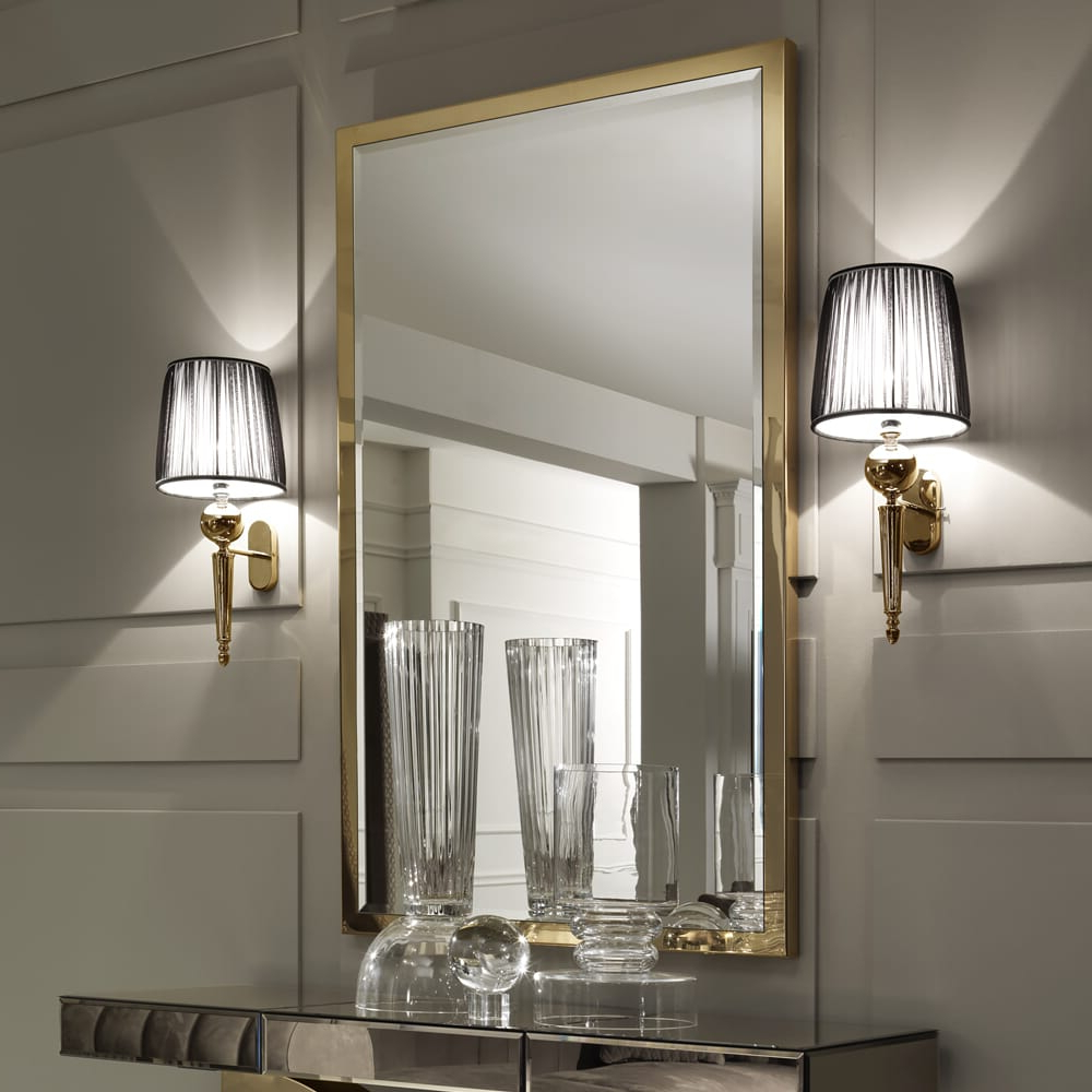 Current Large Gold Wall Mirrors Within Large Gold Italian Wall Mirror (View 7 of 20)